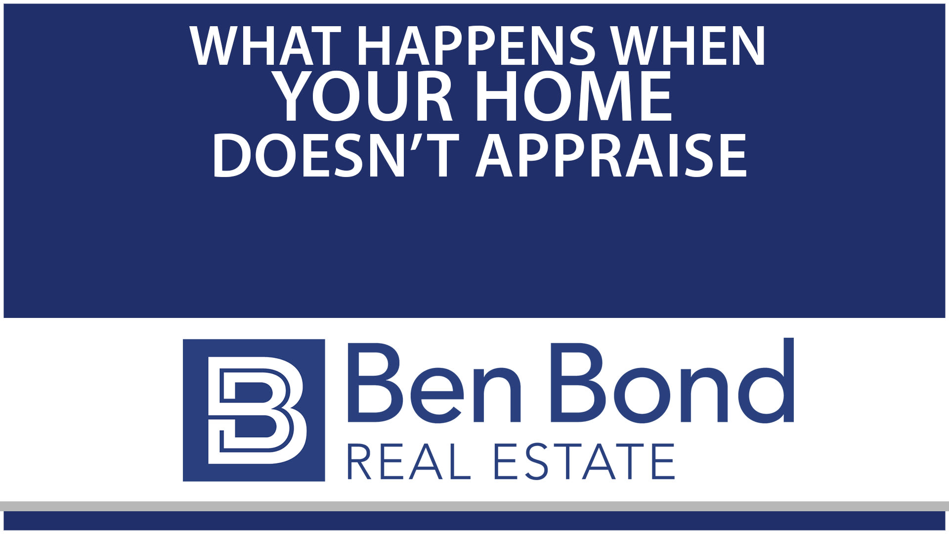 How to Deal With a Low Appraisal