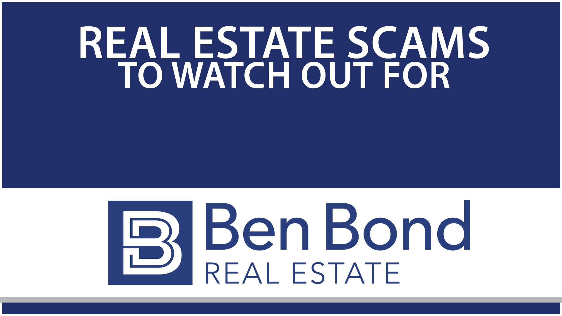 Avoid These 2 Real Estate Scams