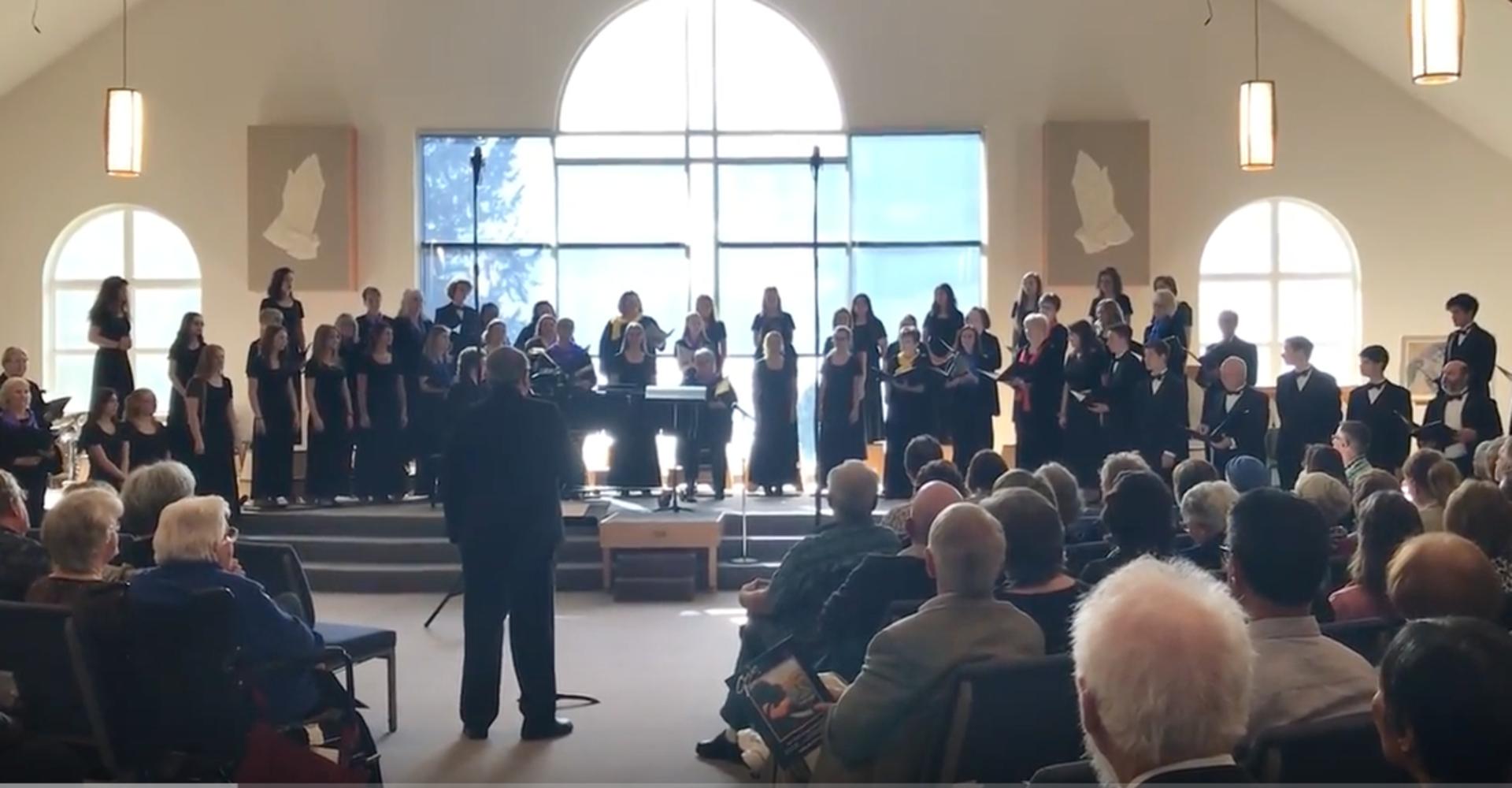 Cora Voce Annual Spring Concert on Fox Island