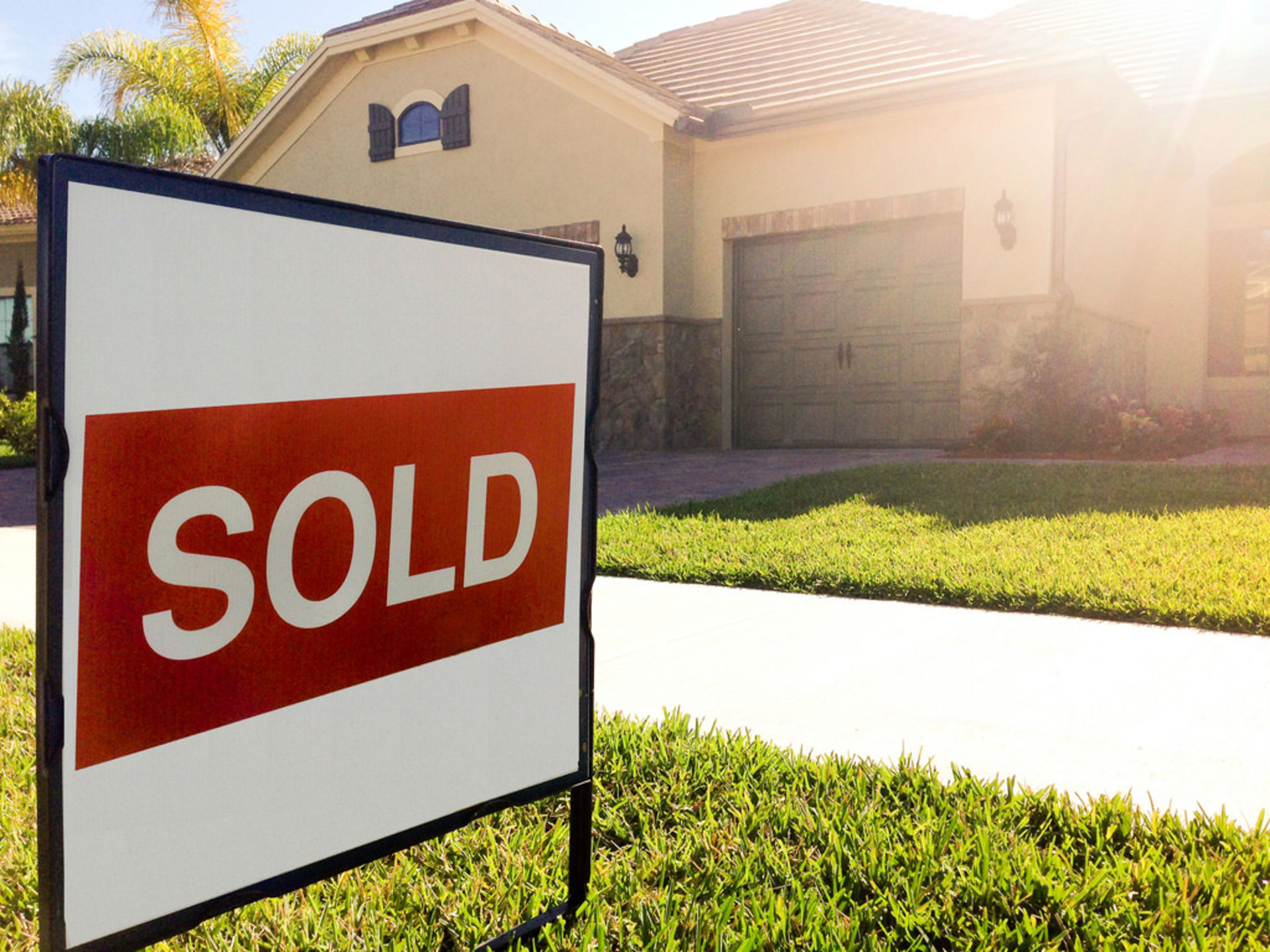 What's Up in the Real Estate Market? Sales!