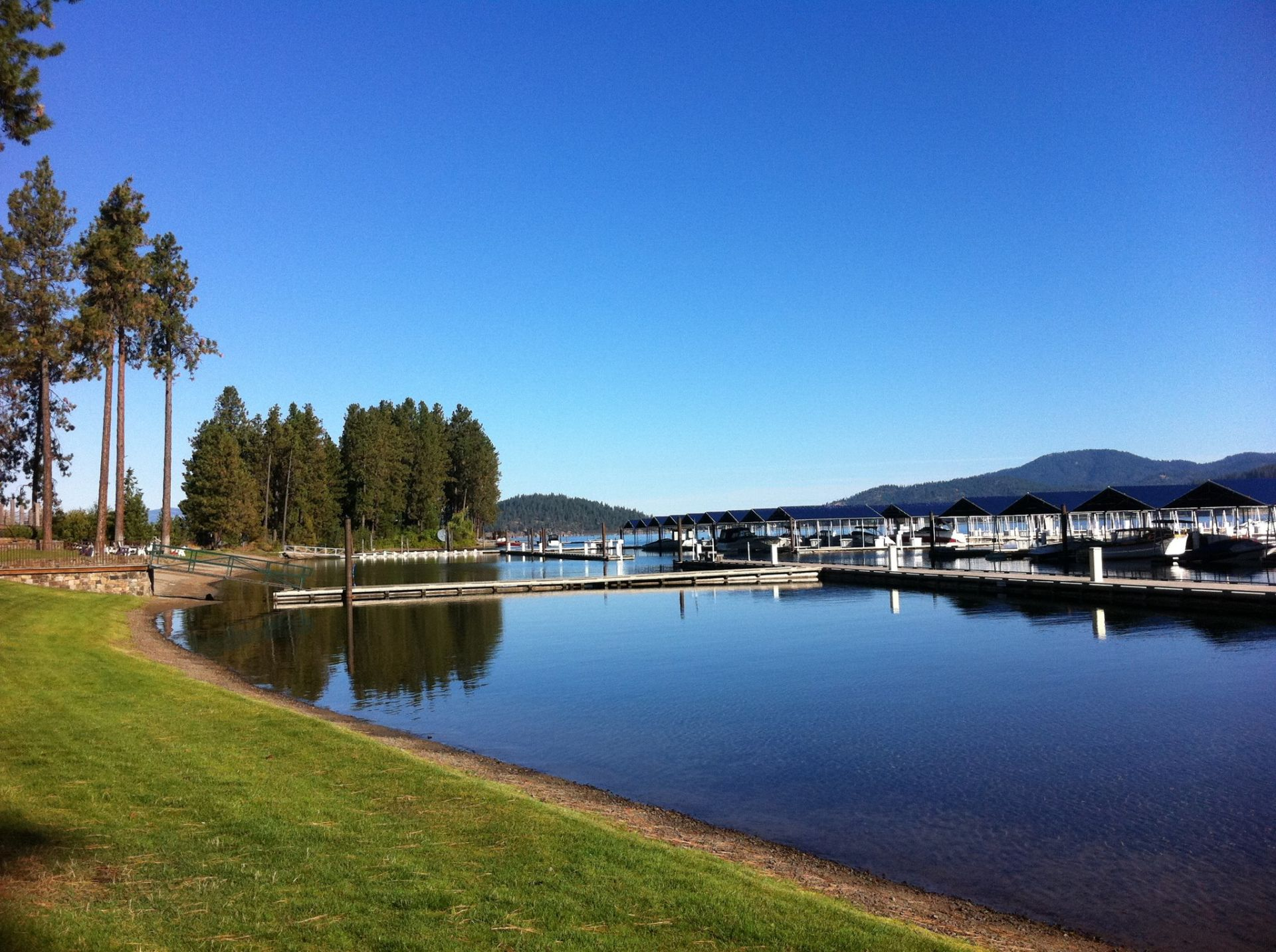 Understanding what  'secondary waterfront' property is in Coeur d'Alene