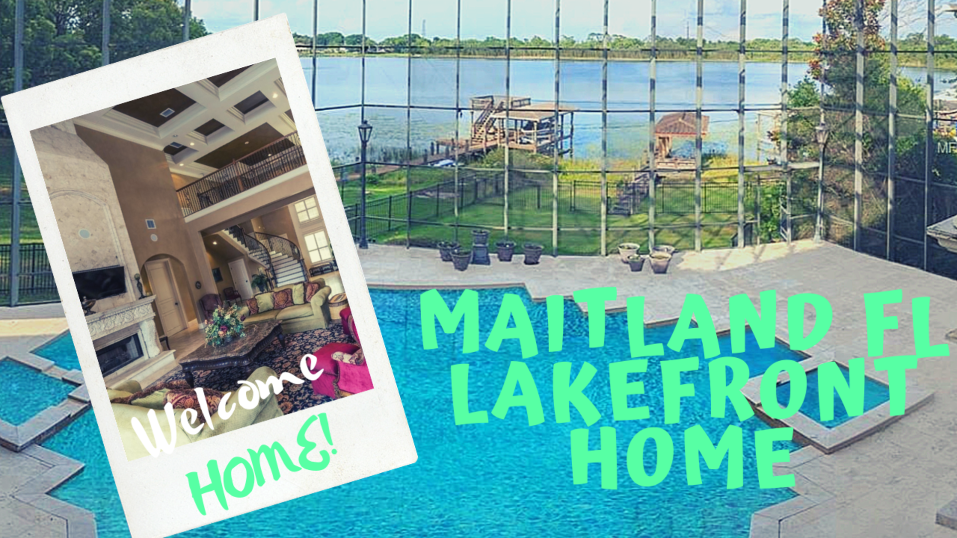 Just Listing | Maitland Lakefront Home in Stone Hill | Eamor Homes