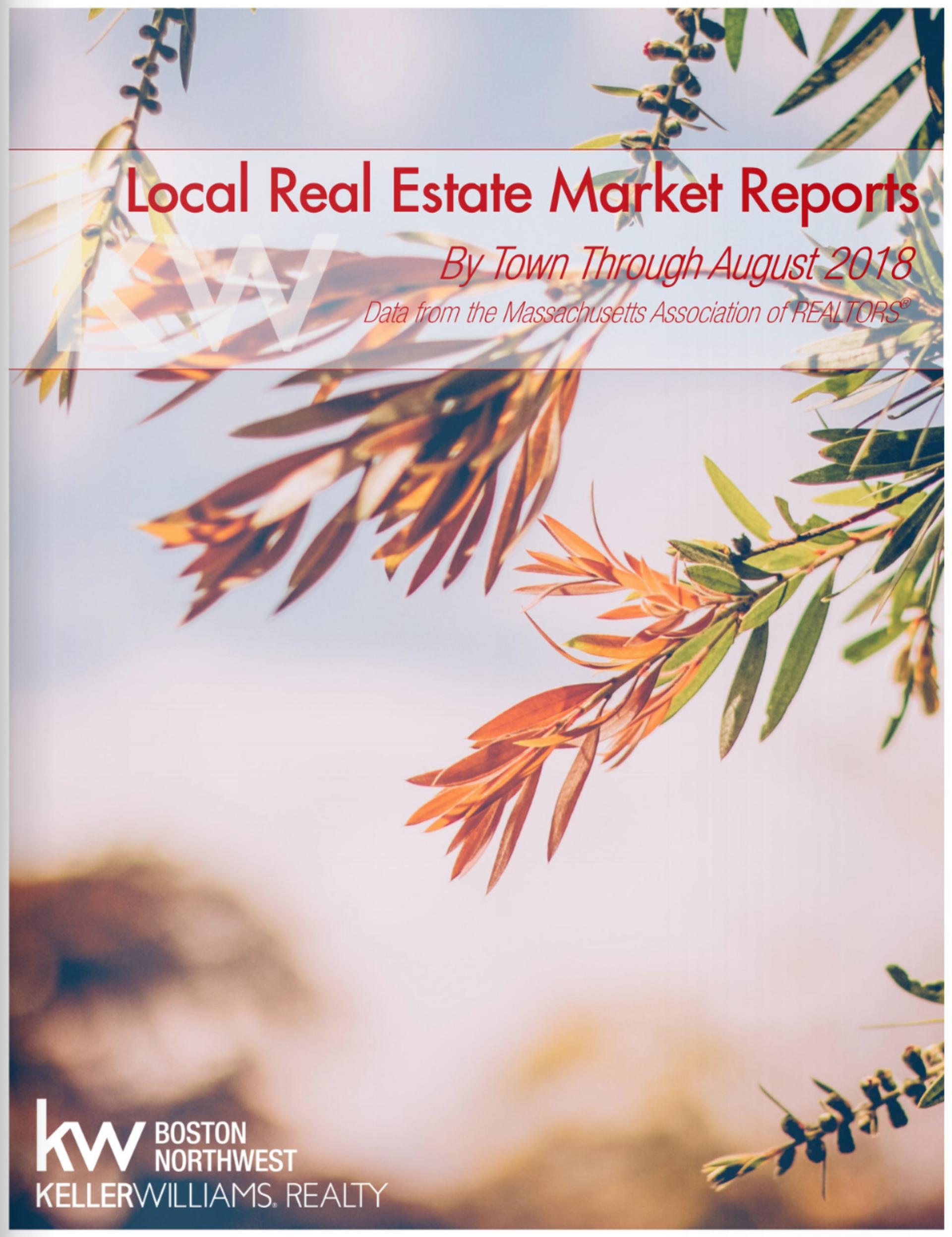 Market Report through August 2018