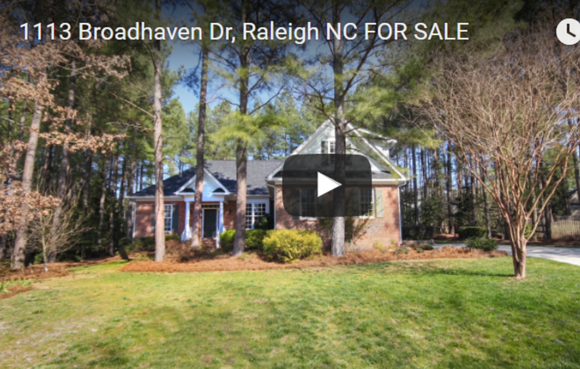 1113 Broadhaven Dr Raleigh NC for Sale!
