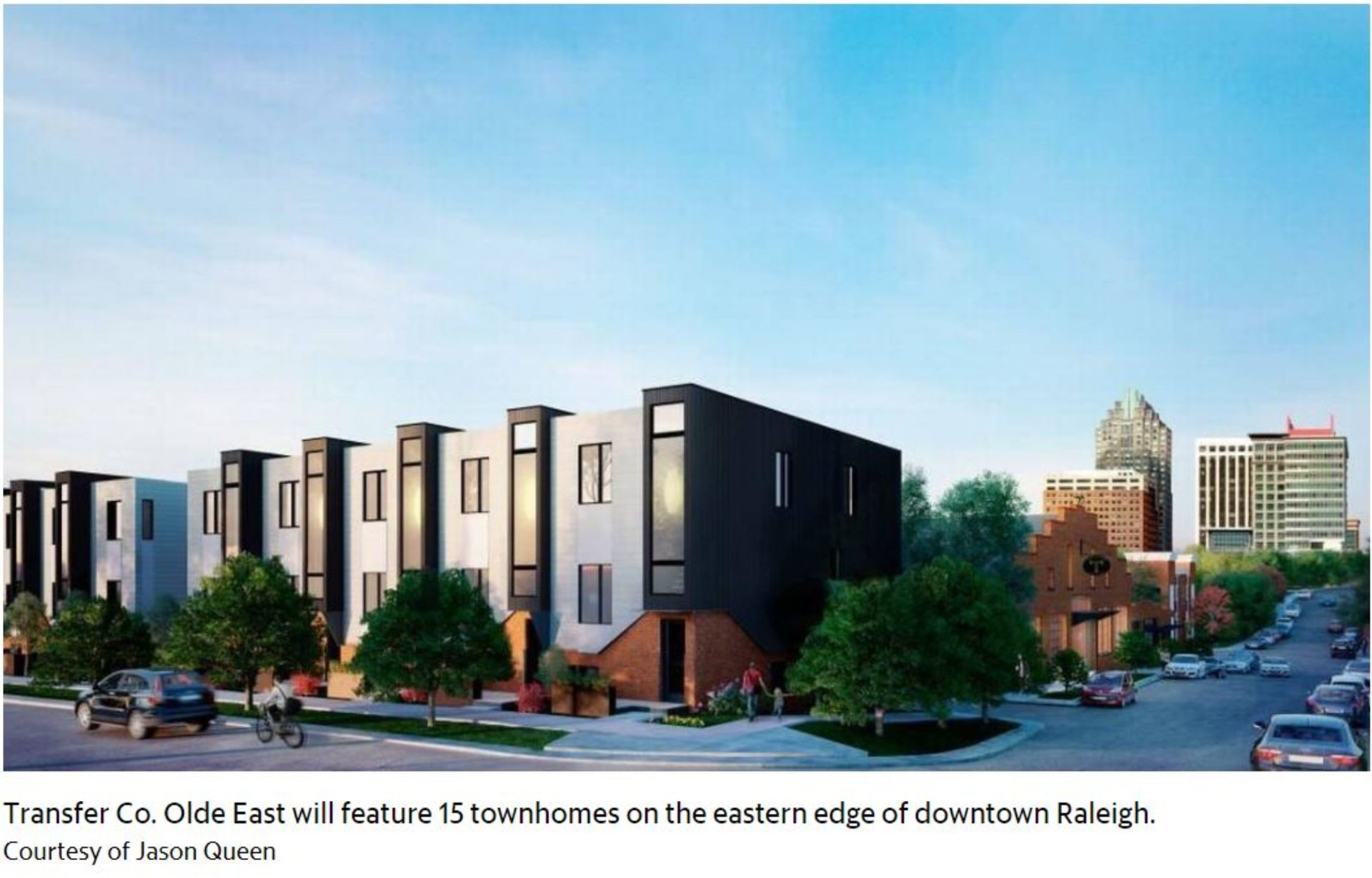 Luxury Townhomes in Downtown Raleigh