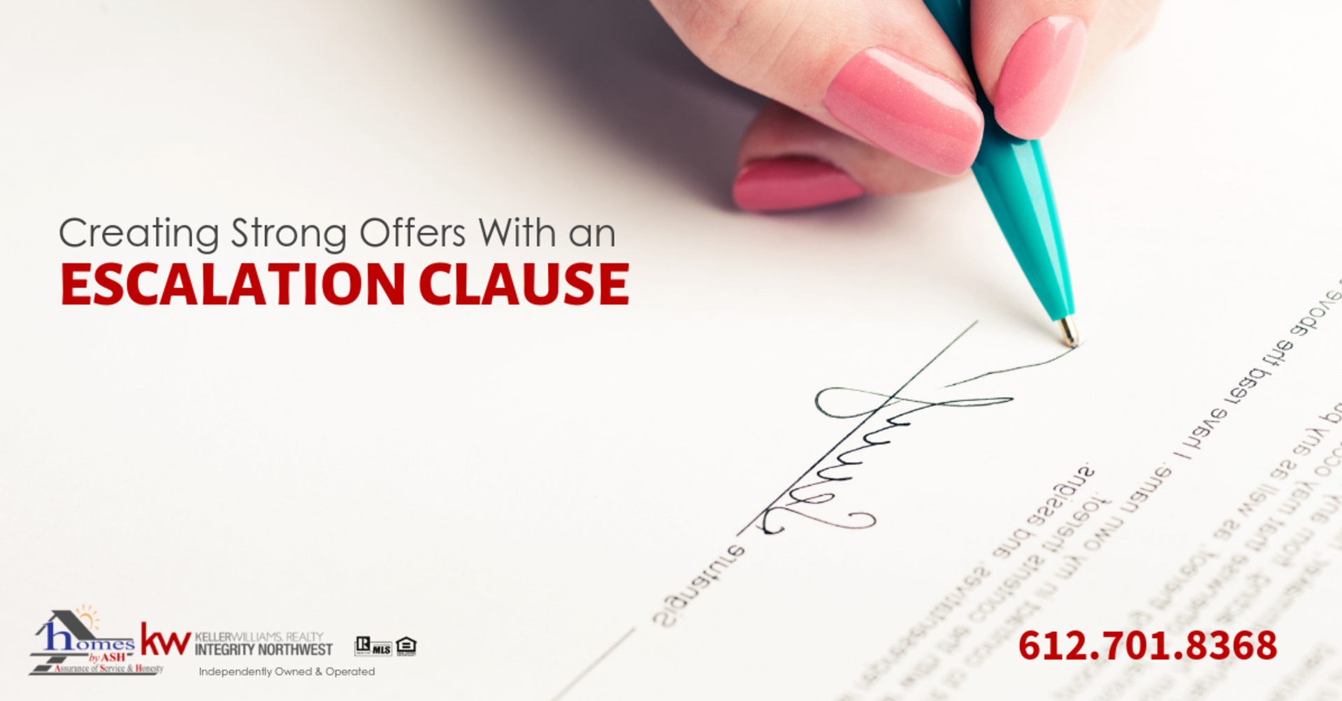 Making Strong Real Estate Offers Using an Escalation Clause