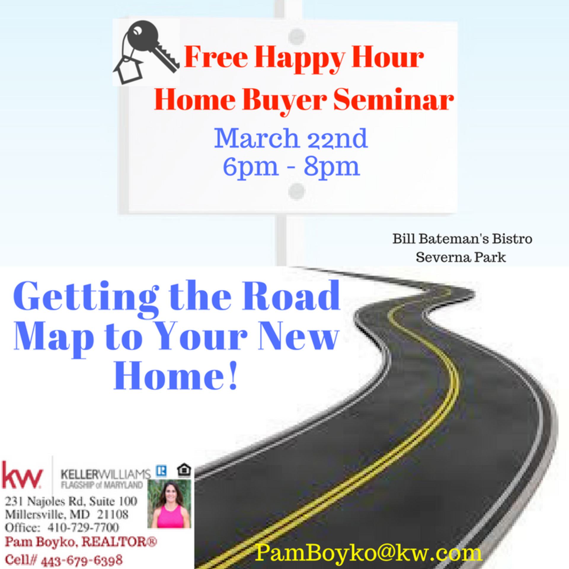 Happy Hour Home Buying Seminar March 22, 2018
