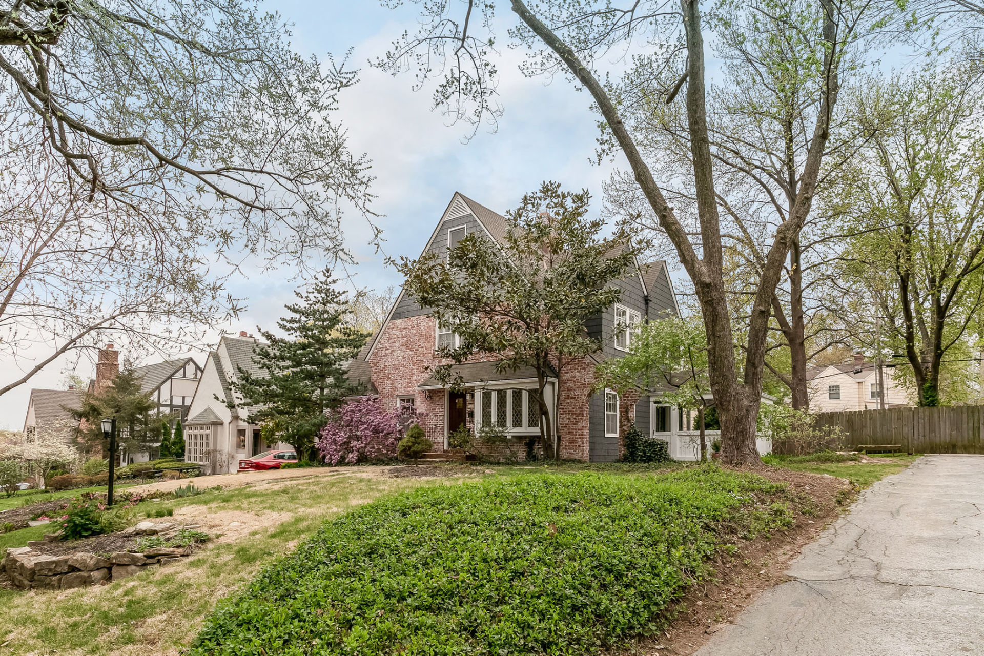 NEW ON THE MARKET! Updated Tudor in HISTORIC Westwood Hills!