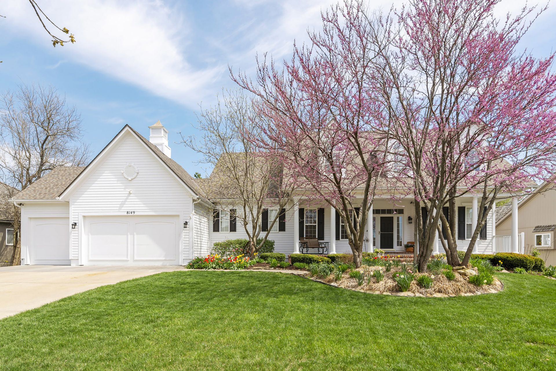 OPEN Sunday, 6/9 in Lenexa! Gorgeous 5BR Colonial Home on Beautiful Treed Lot!