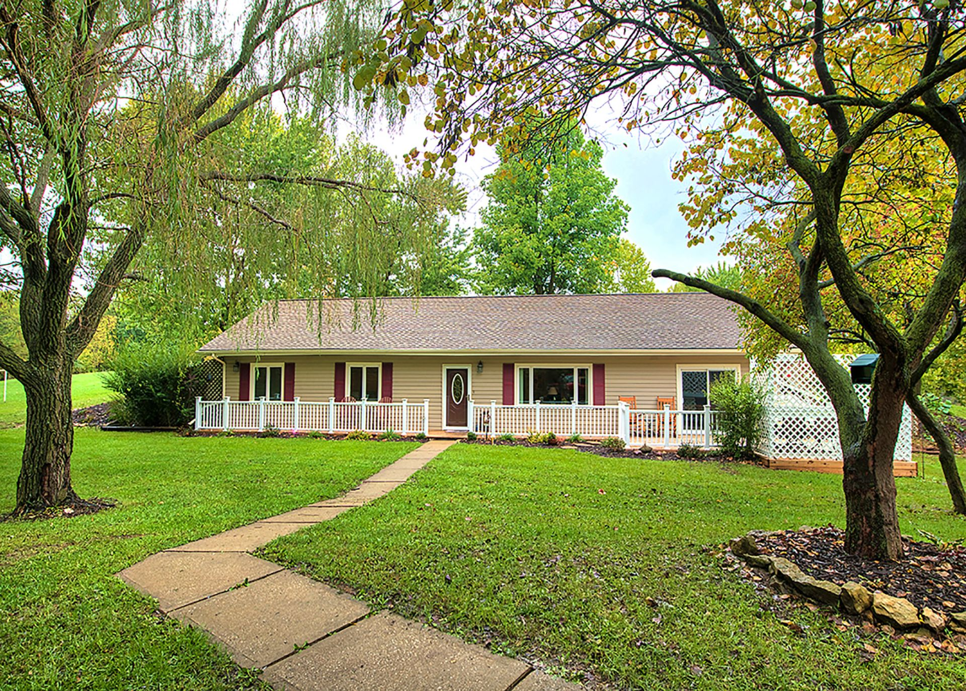 JUST LISTED!  Darling Ranch Home on 6 Private Pastoral Acres