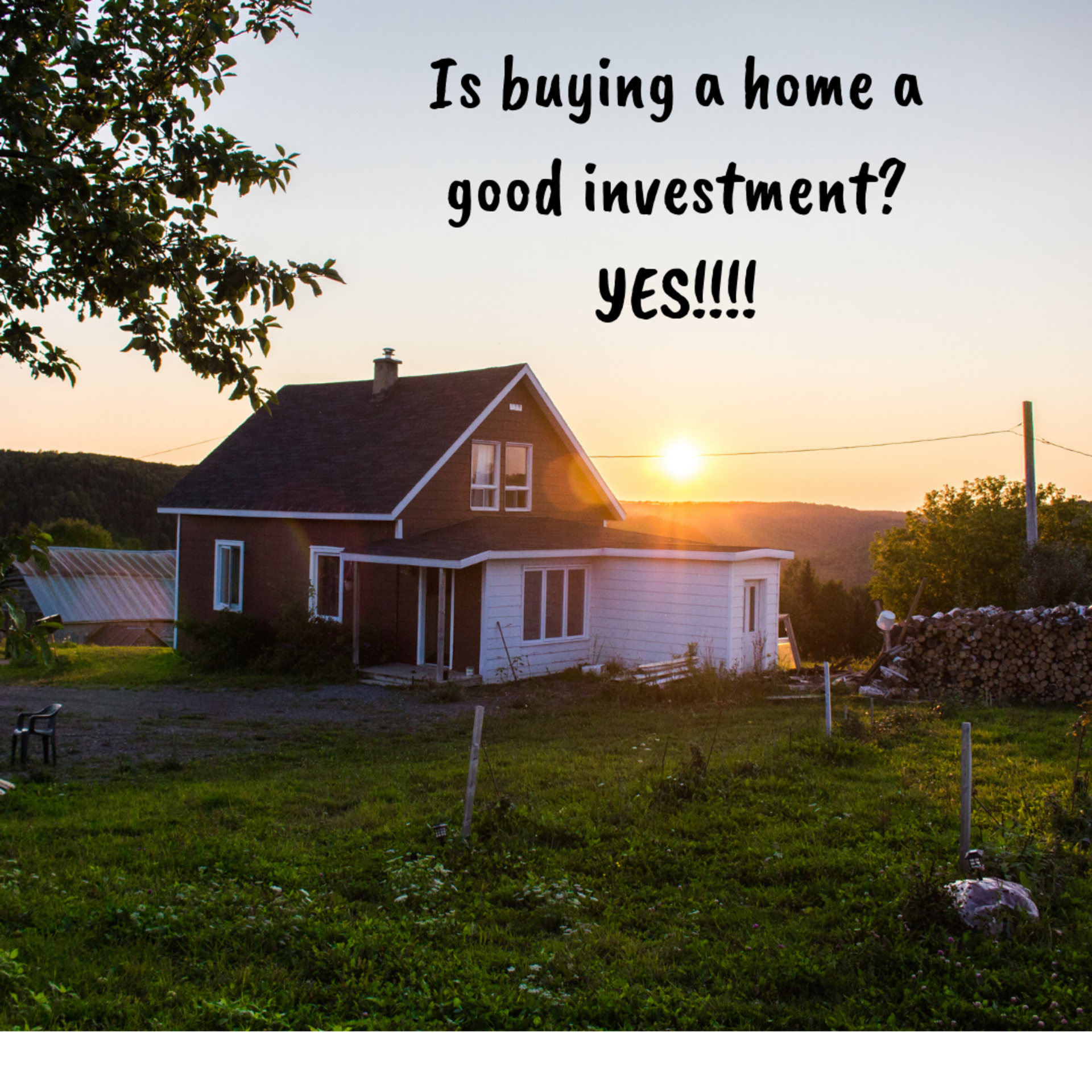 Buying a home is still a great investment!!