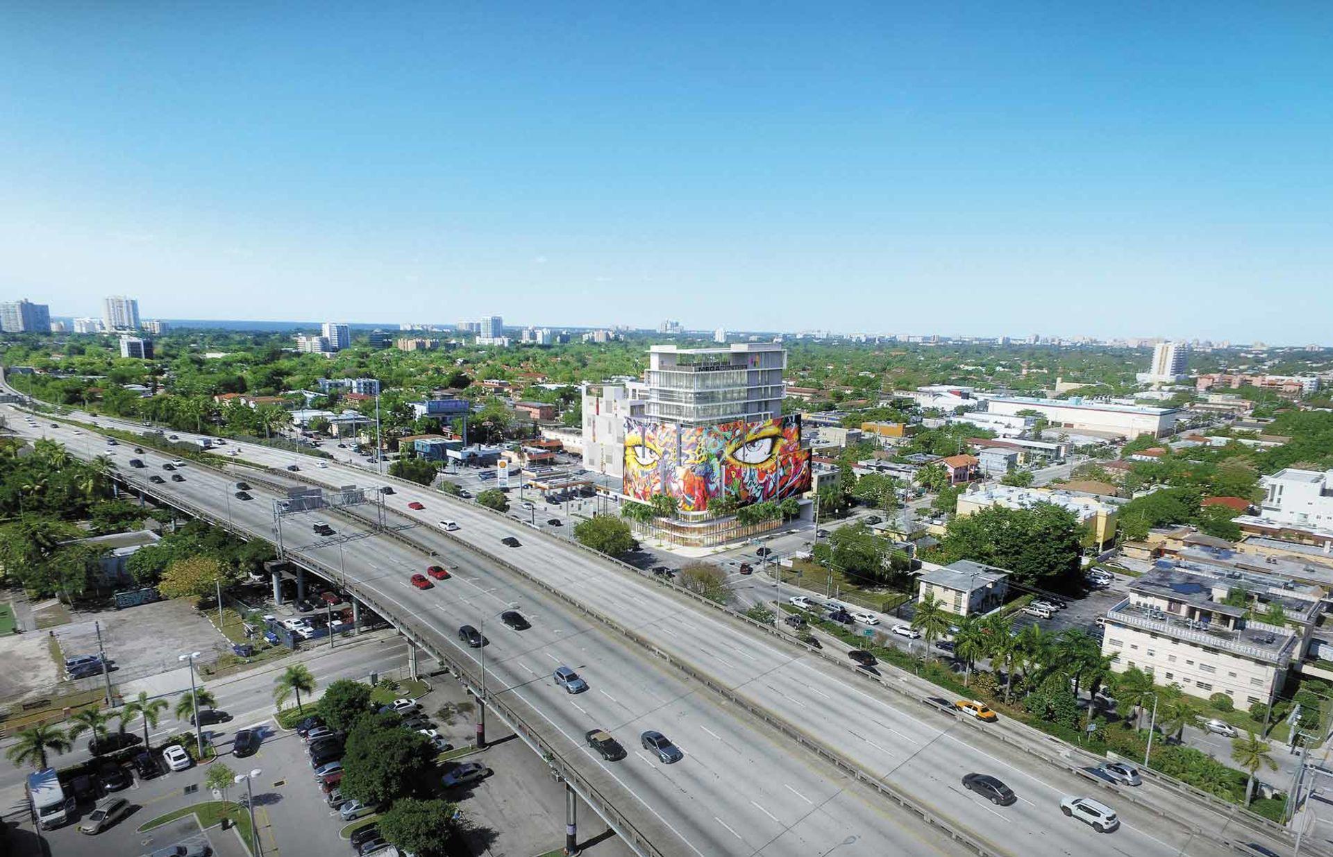 Brickell getting unique mixed-use development near I-95