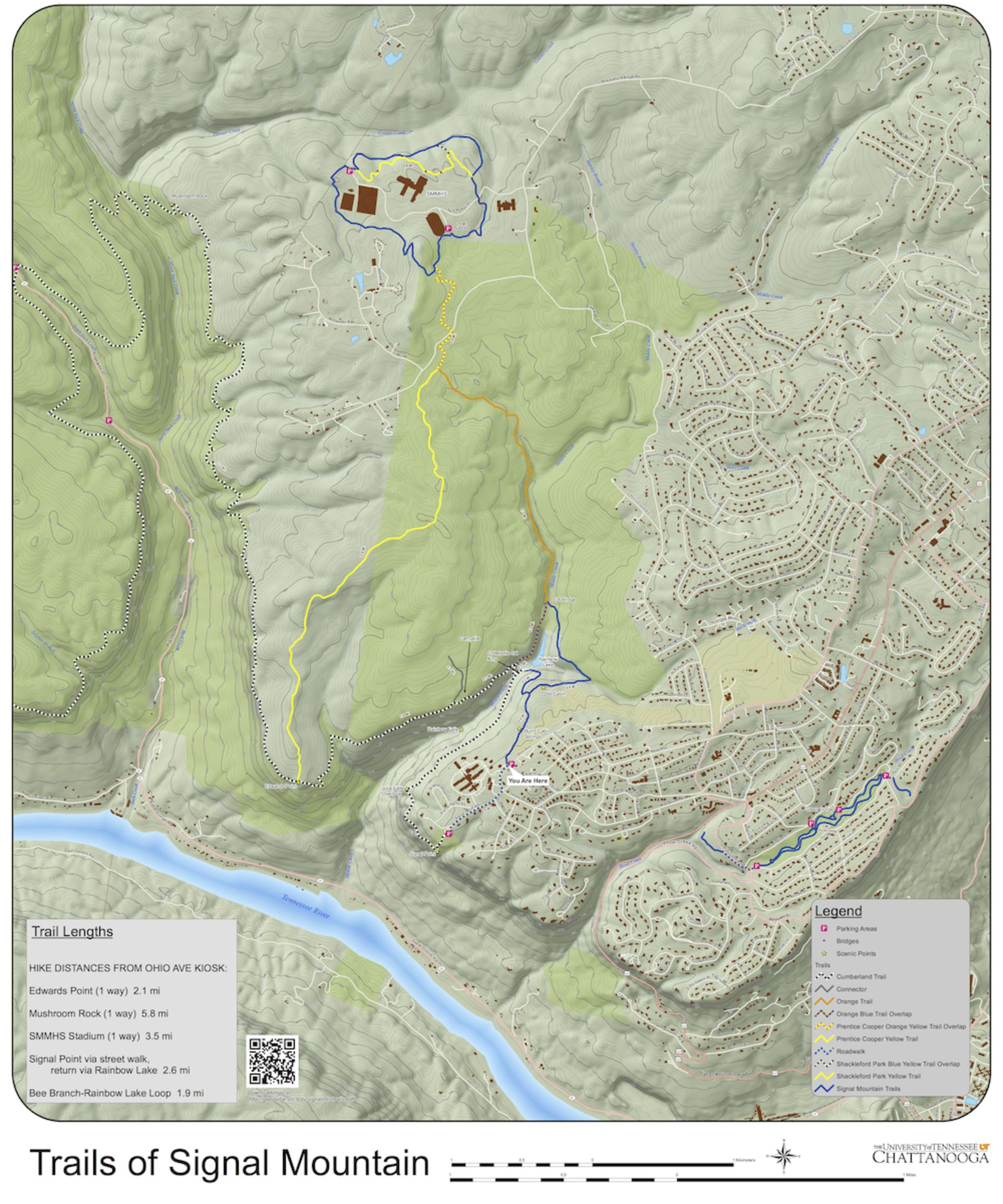 Signal Mountain Trails Map Now Available Here!