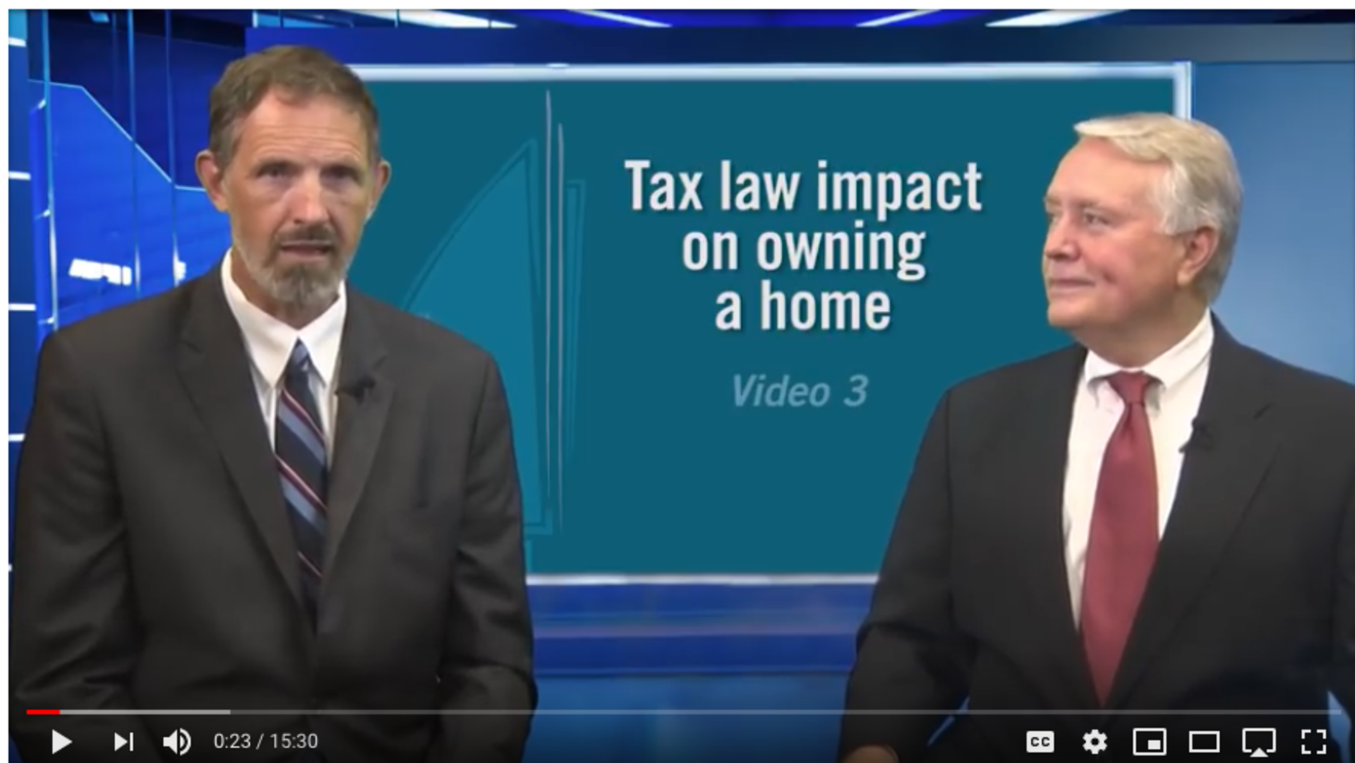 Understand the New Tax Law: Homeowners