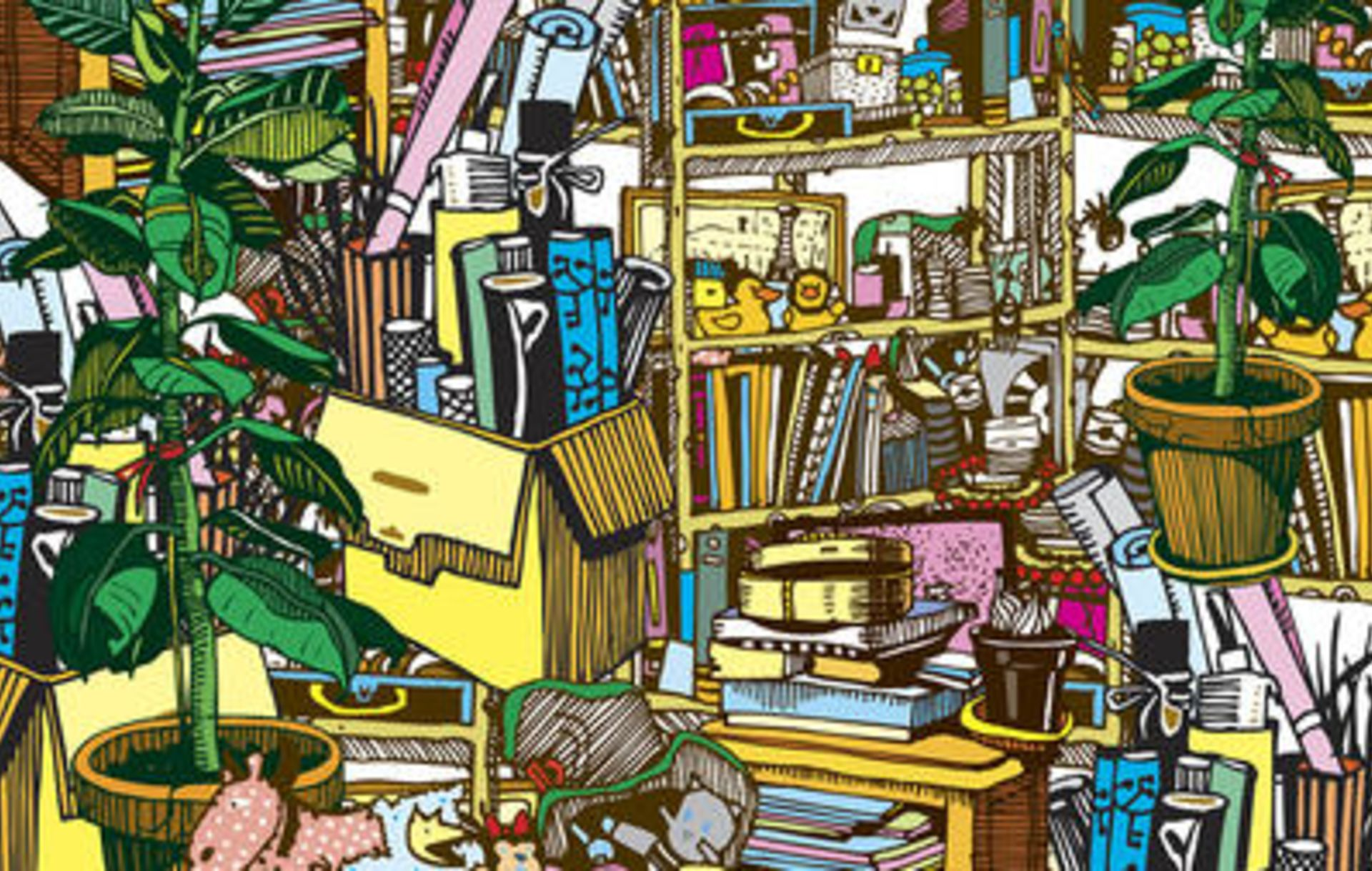 20 Tips to De-Clutter your home