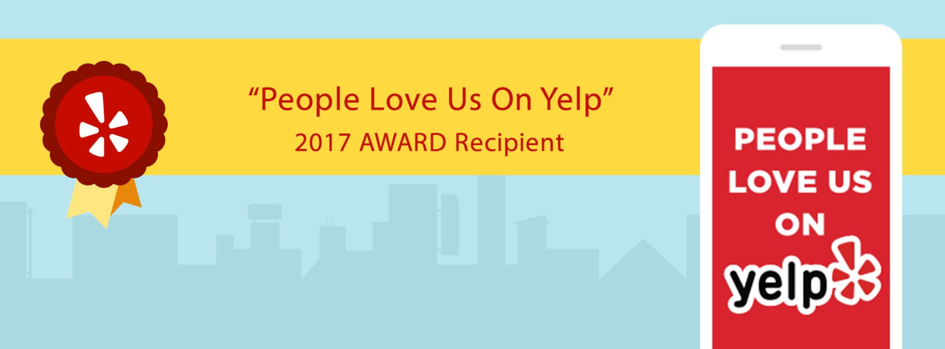 Yelp Loves Us Too!