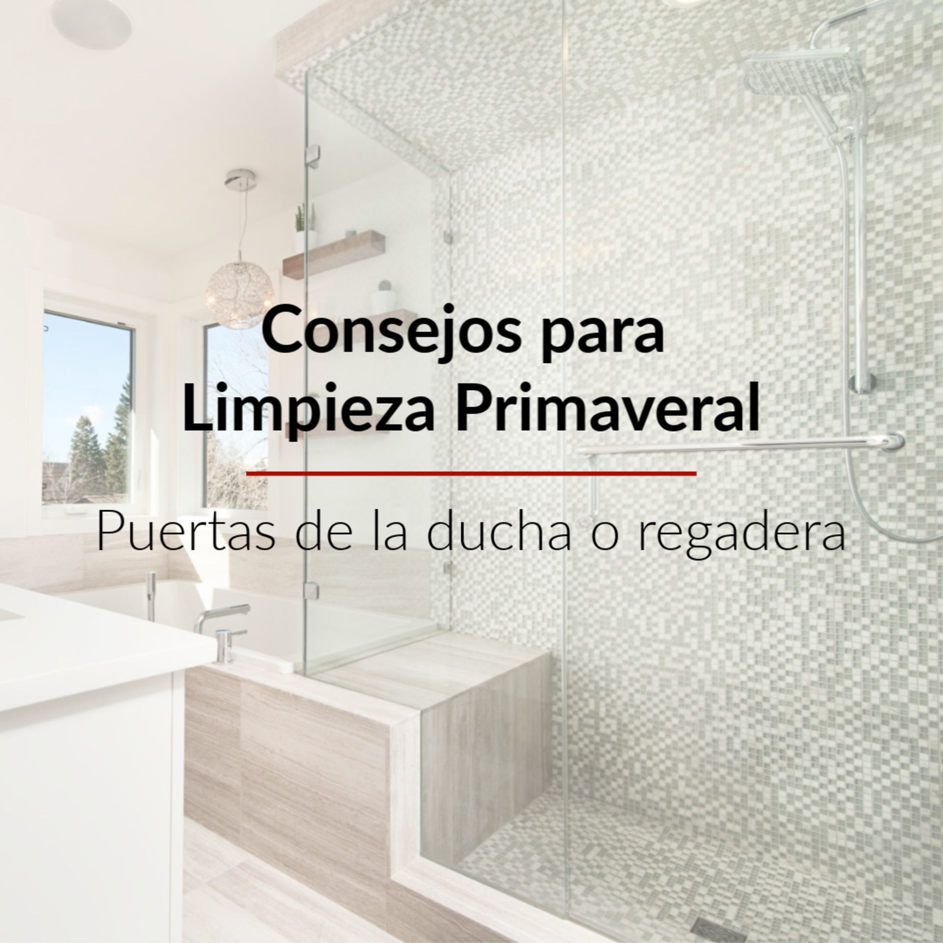 Consejos para Limpieza Primaveral: La ducha