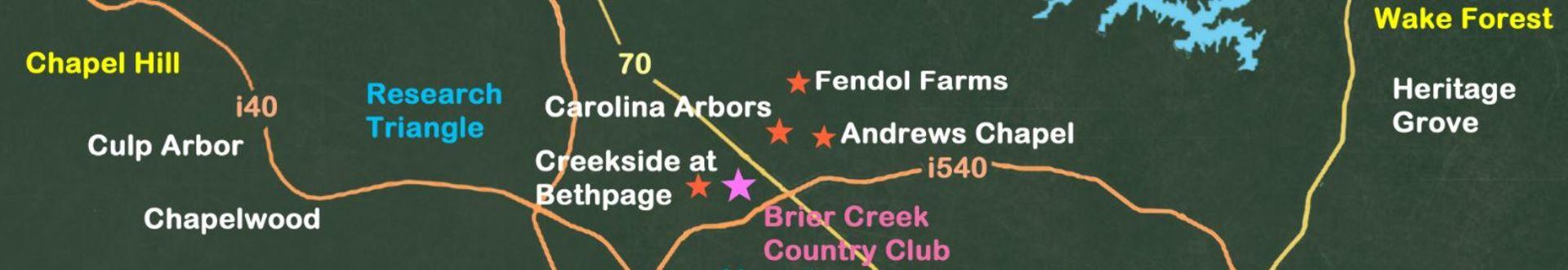 The Brier Creek Area