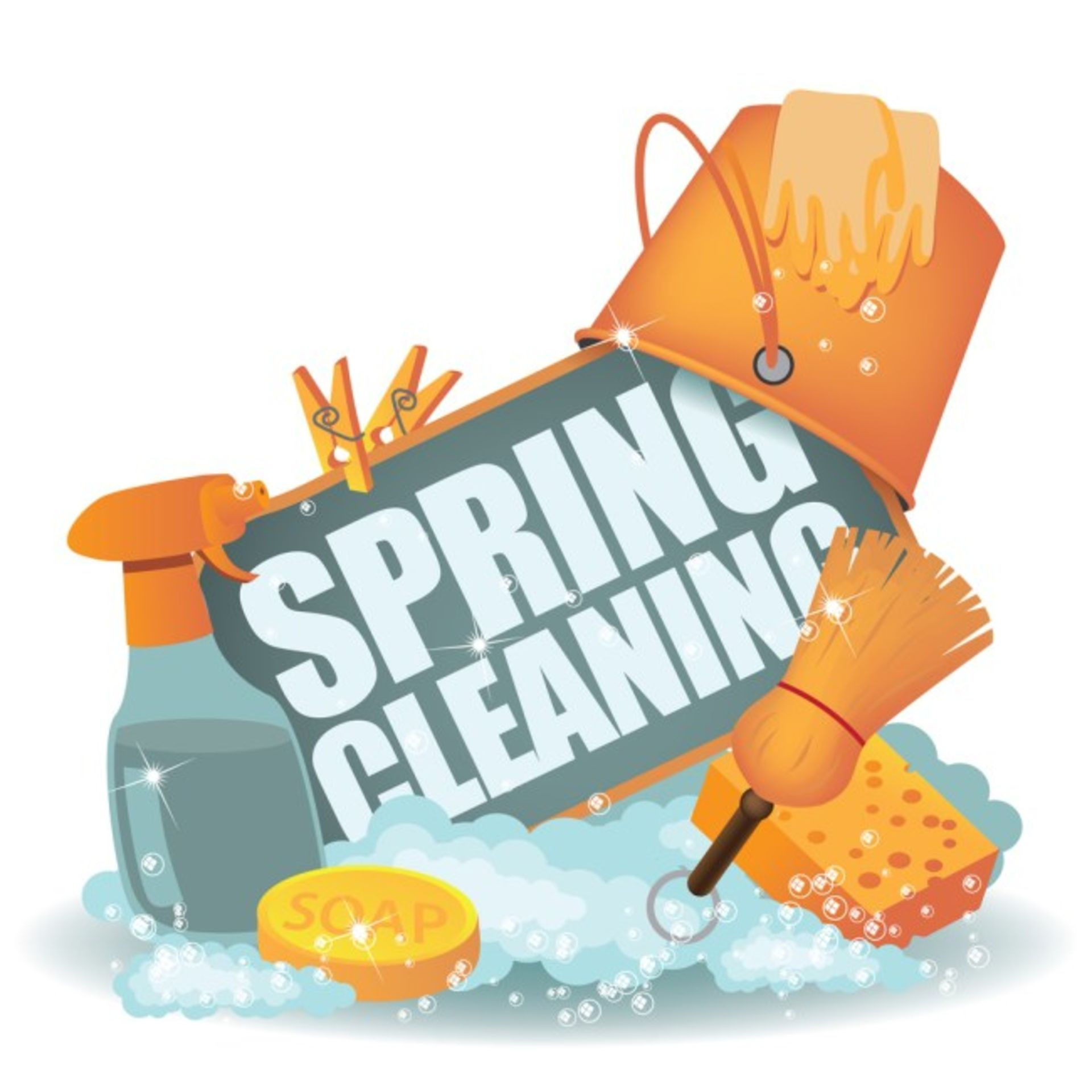 Spring is here!  Time to Spring Clean