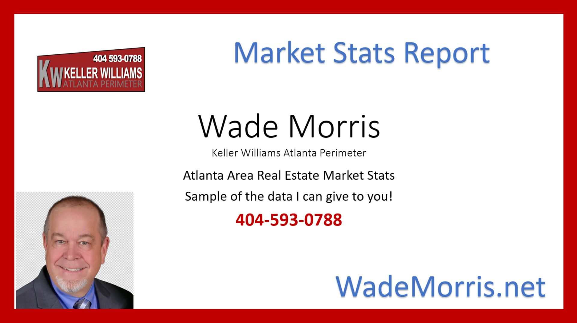 Selected Atlanta Area 2017 Real Estate Market Stats