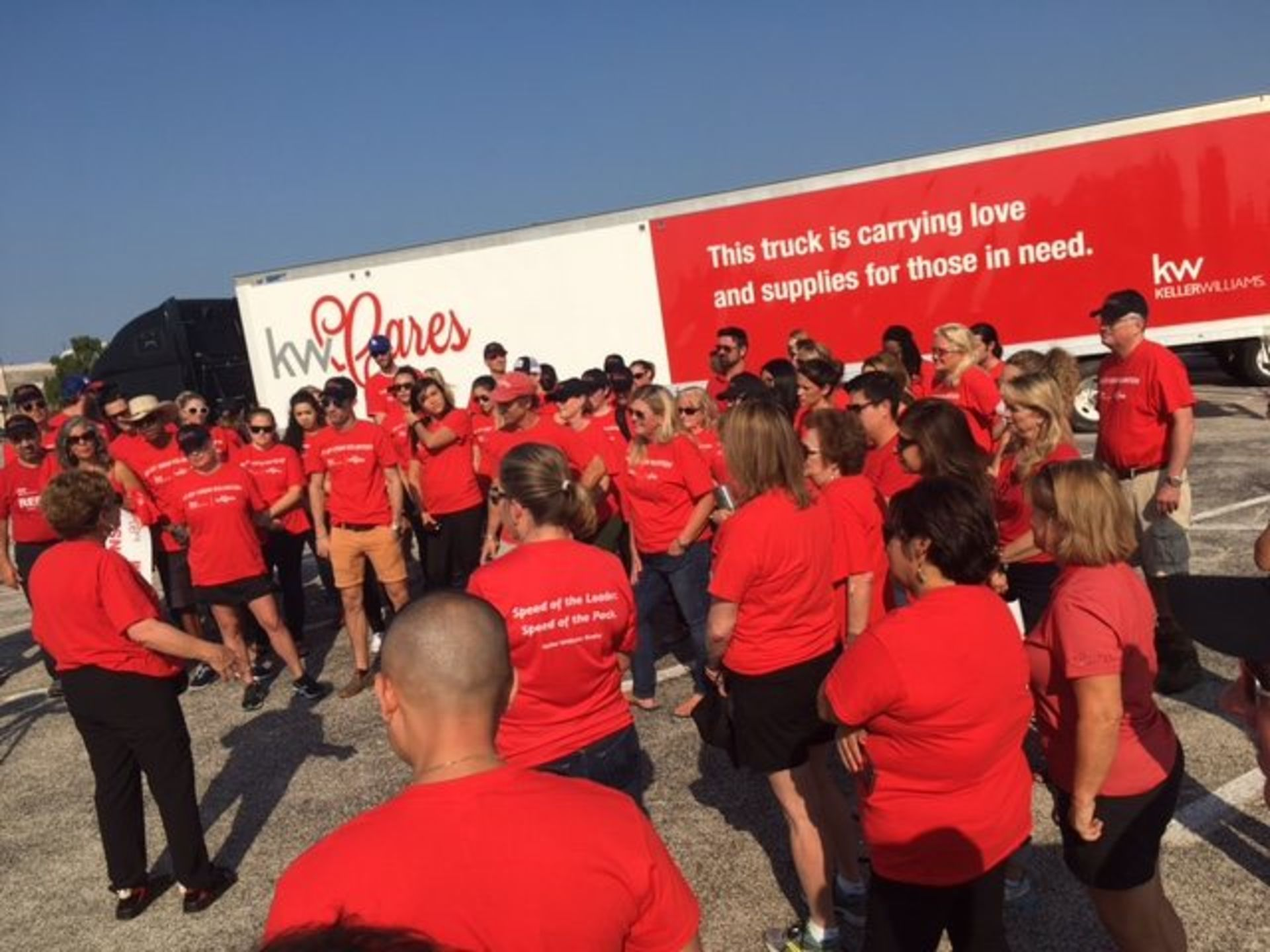 Keller Williams Realty Emerald Coast helps with hurricane relief efforts