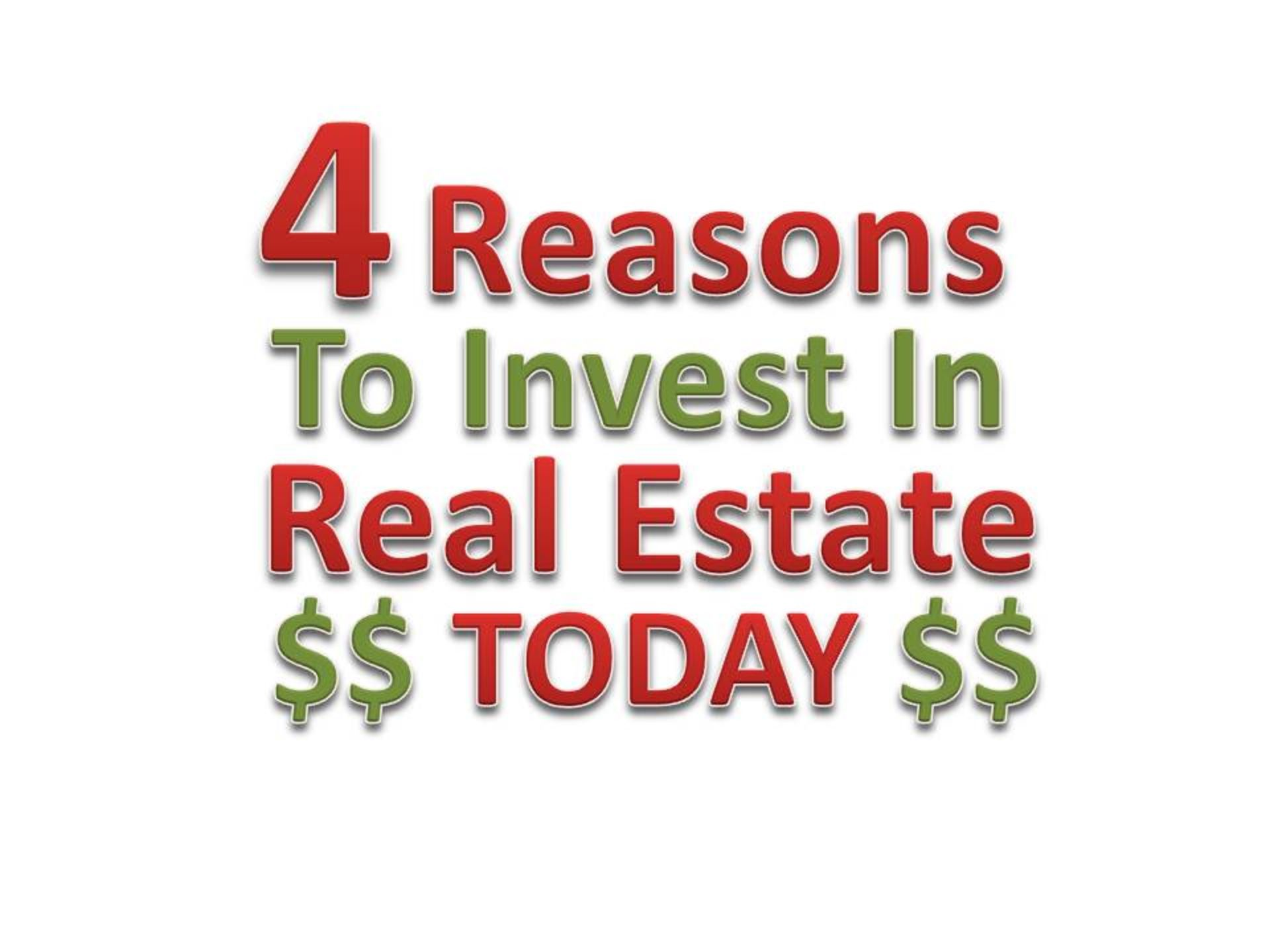 4 Benefits to Investing in Real Estate Today