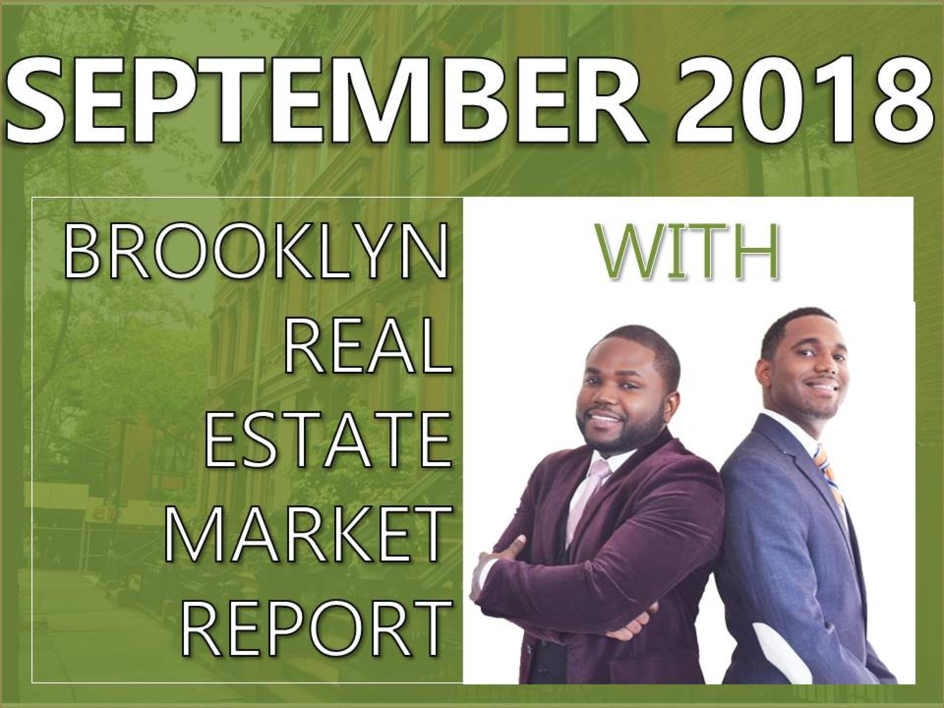 September 2018 Brooklyn Real Estate Market Report