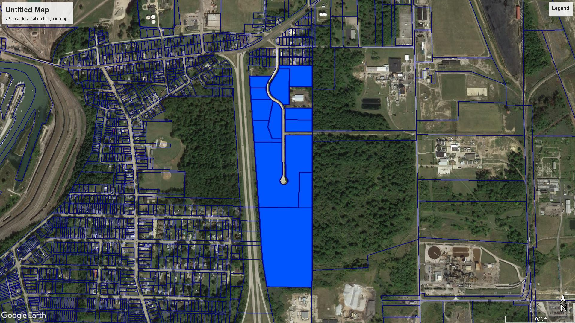 Fully Improved Ashtabula Industrial Park Land for Sale