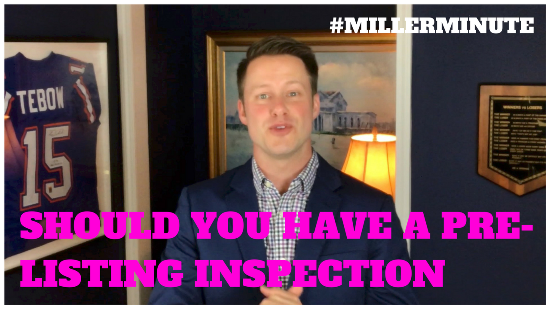 Should You Have A Pre-Listing Inspection? | Miller Minute | Real Estate Tips