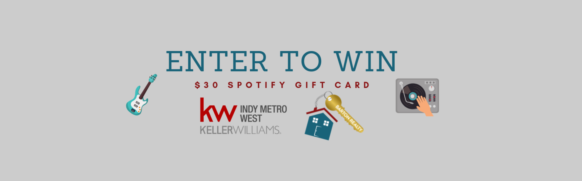 Enter to win- $30 Spotify Gift Card