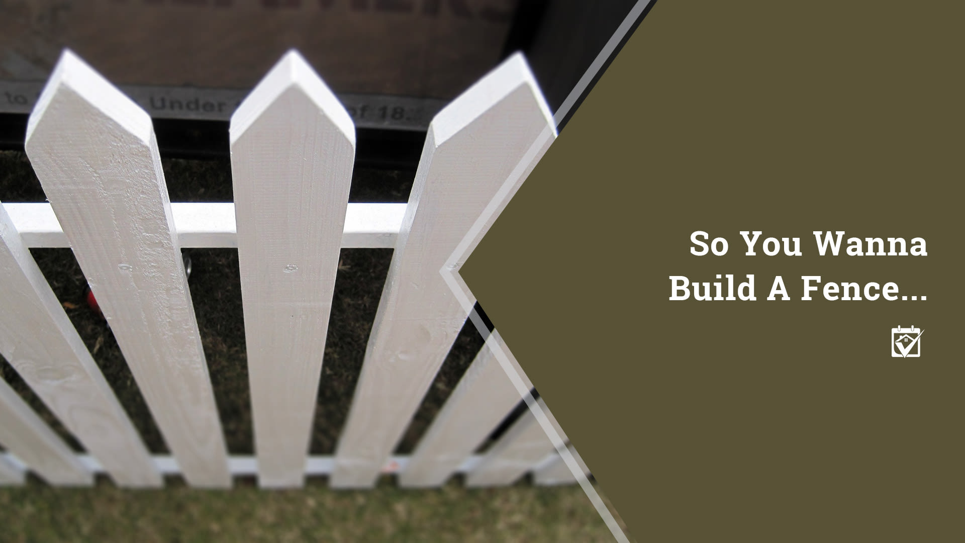 Fence-Building Tips for New Homeowners