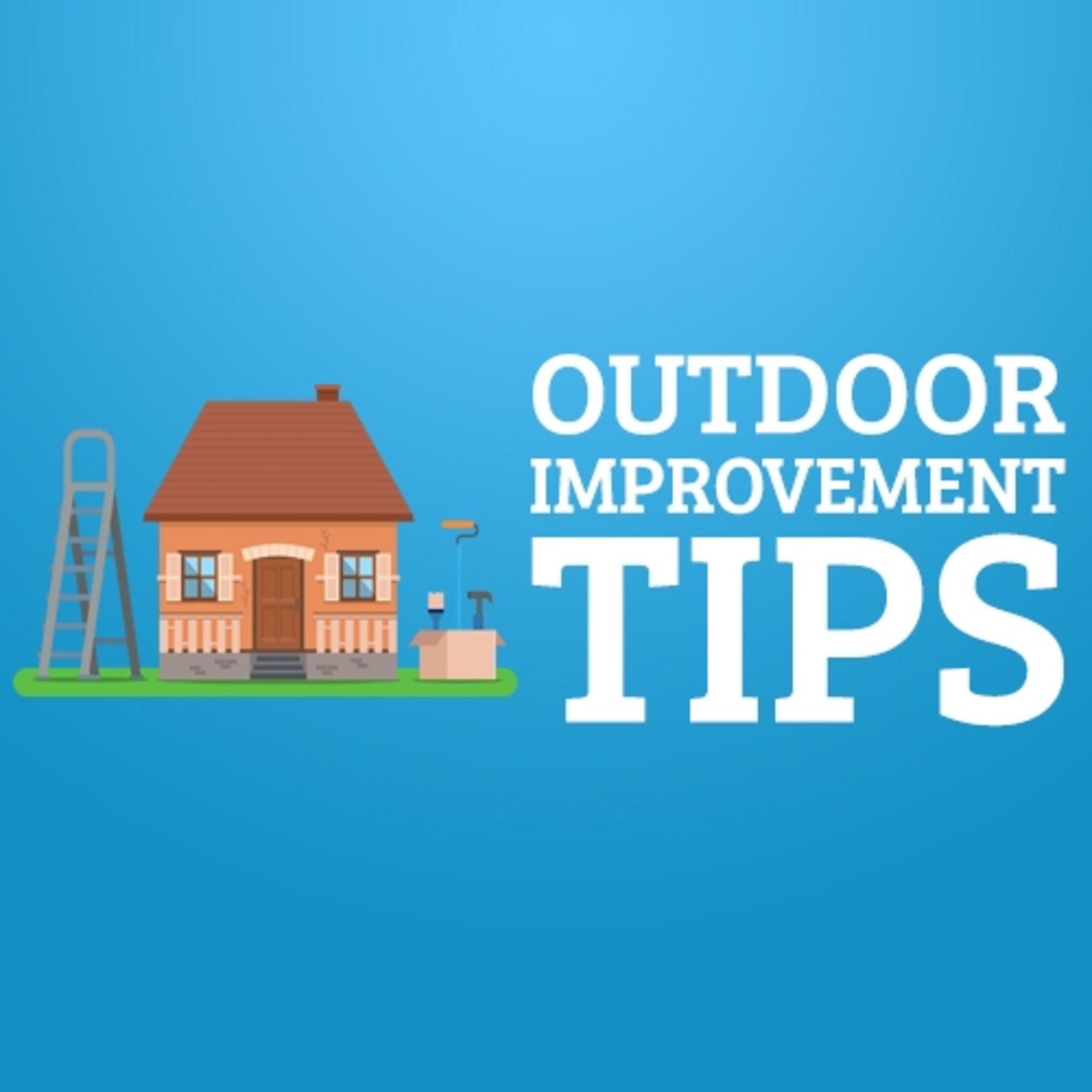 Outdoor Improvement Tips