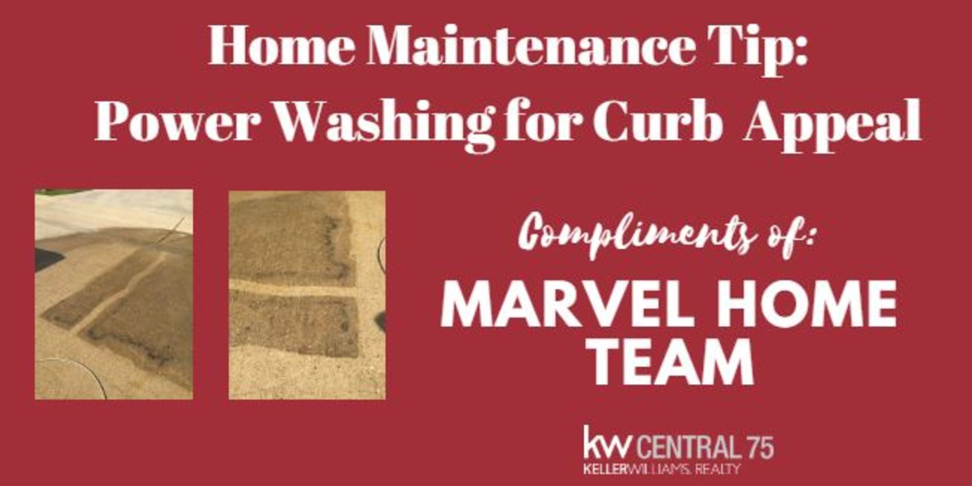 Power Washing For Curb Appeal