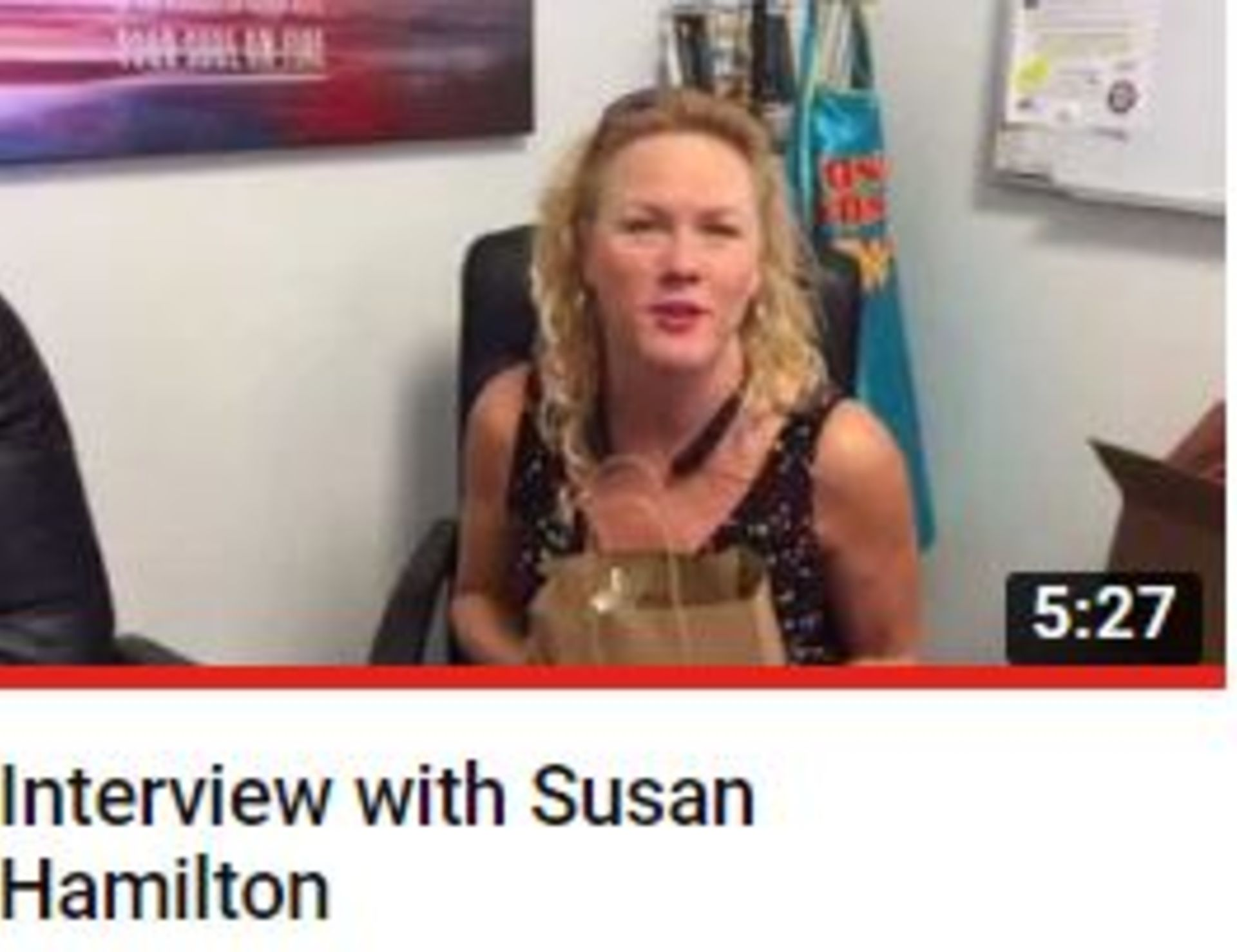 Interview With Susan Hamilton – Off Beat Businness