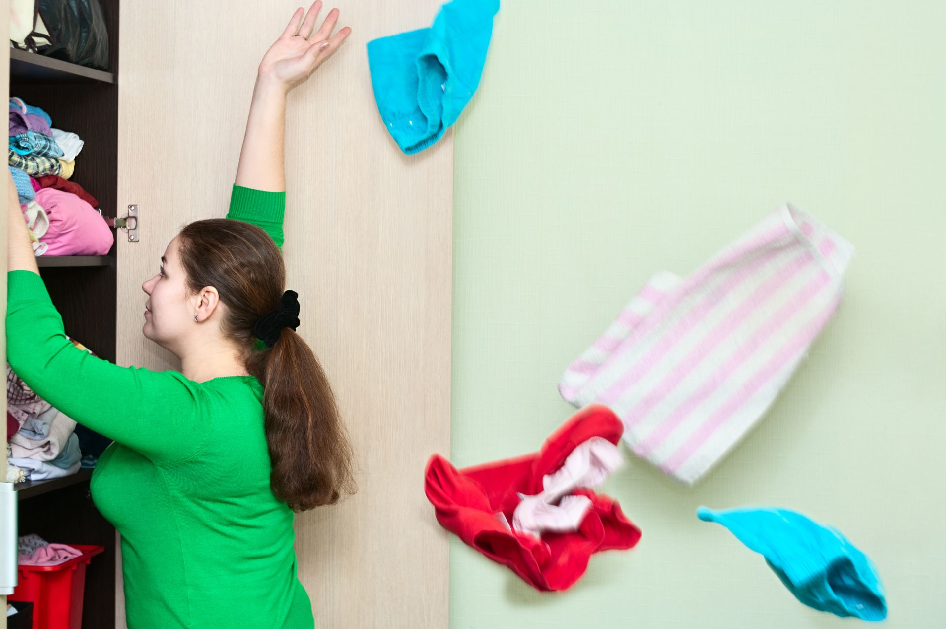 Get in the zone for organizing your home