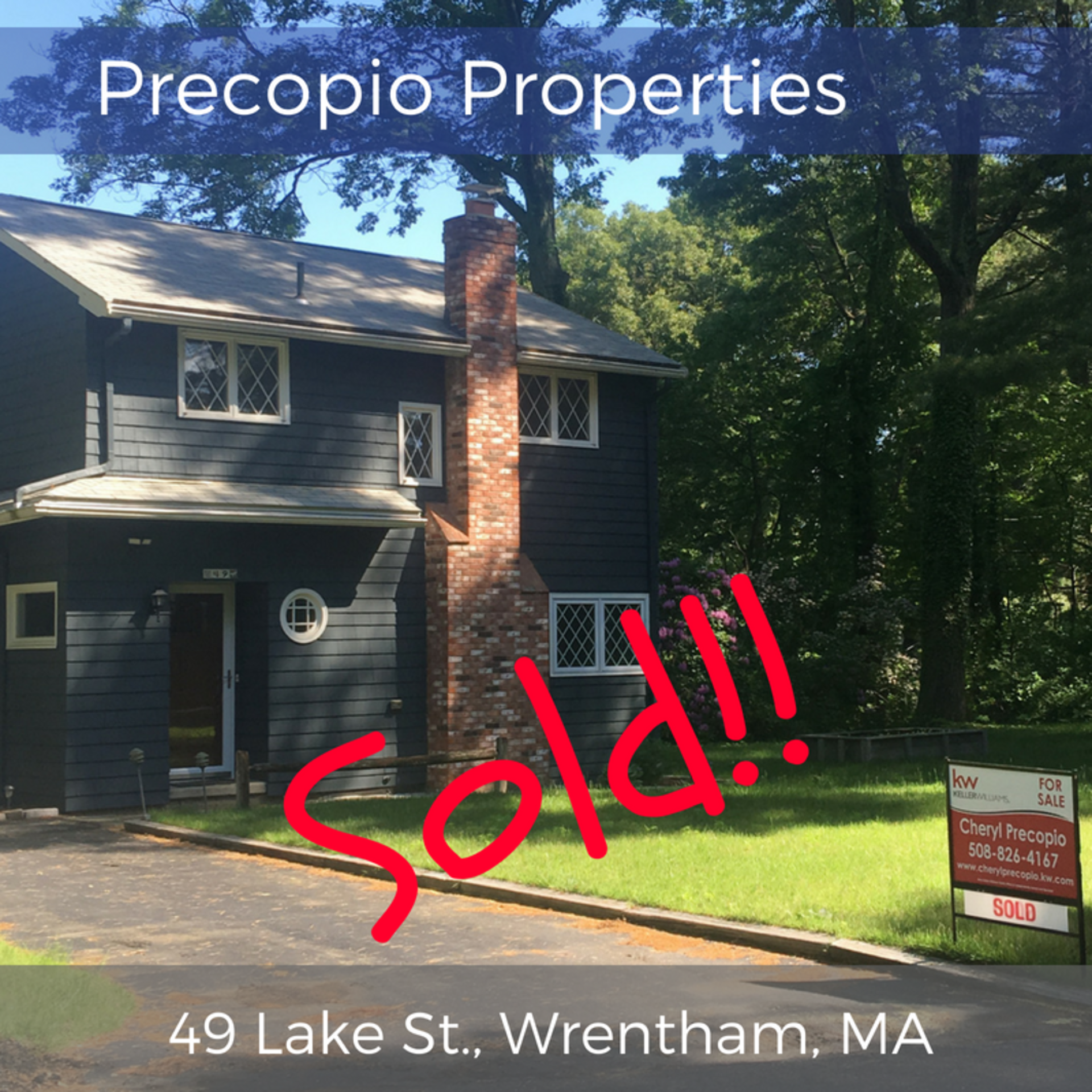 Beautiful Renovated Wrentham Home Sold Fast!! Watch a Video Below…