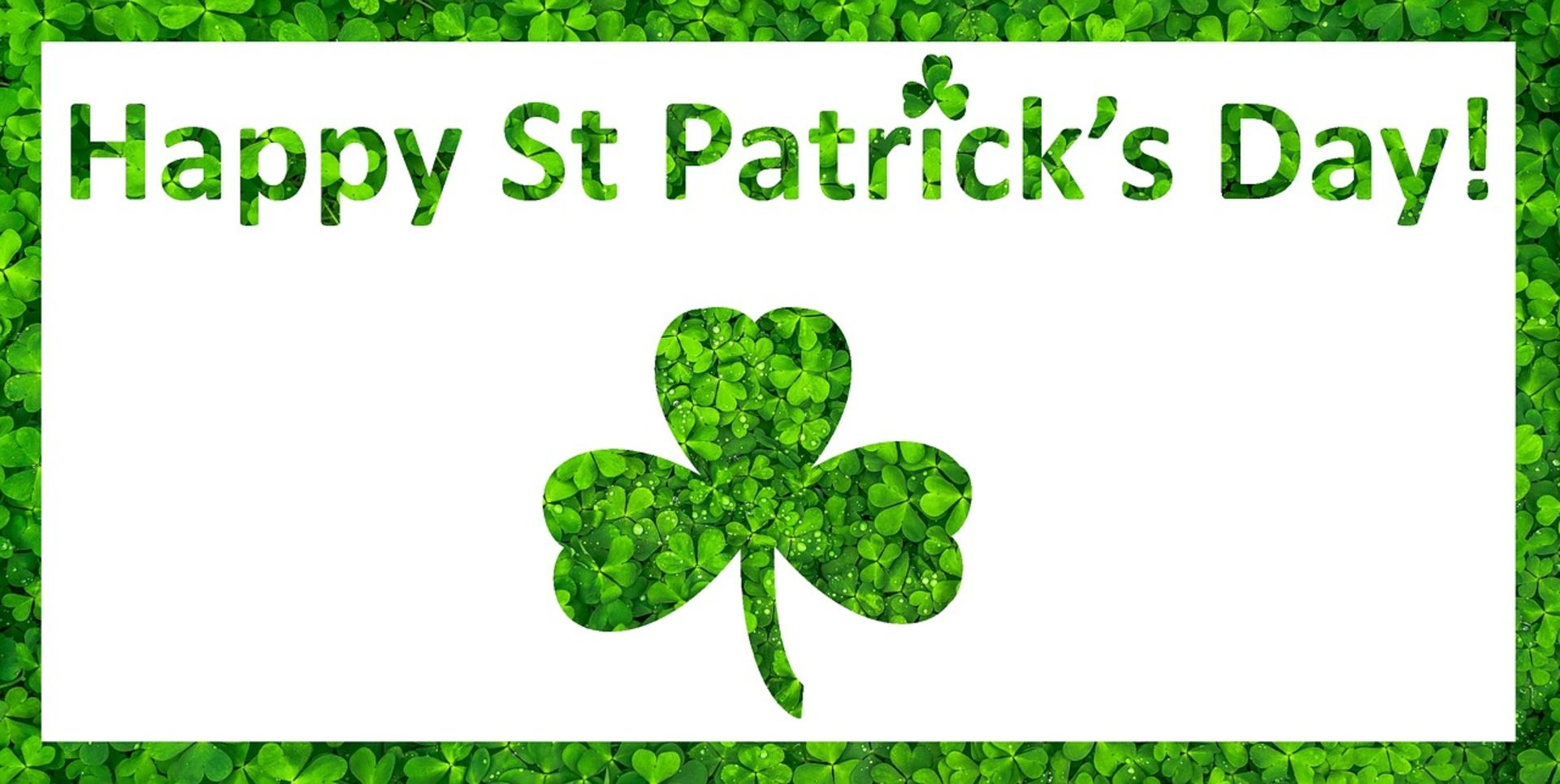Don't Let Your Luck Run Out! Buy A Home This Spring!