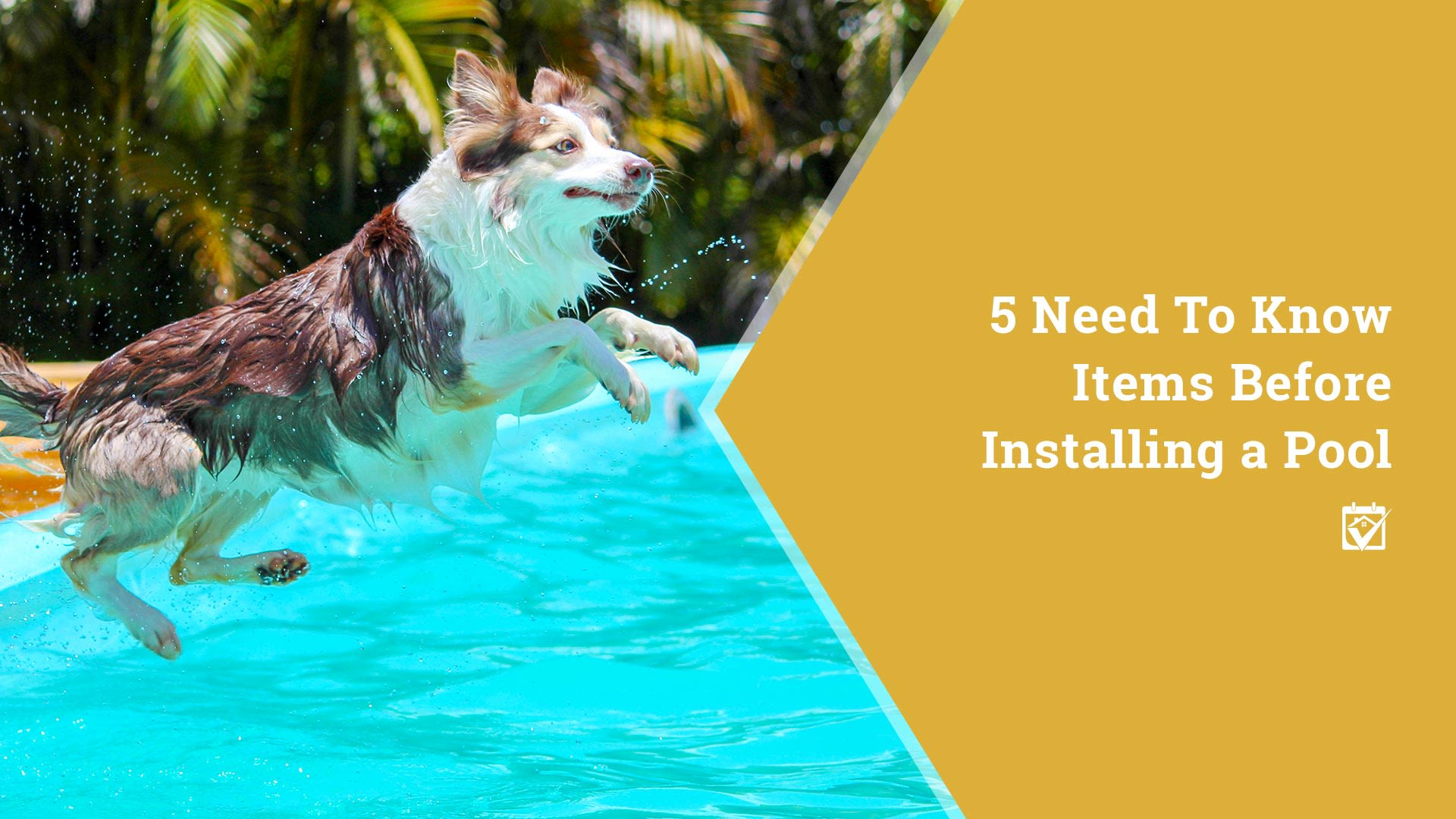 5 Need To Know Items Before Installing a Pool