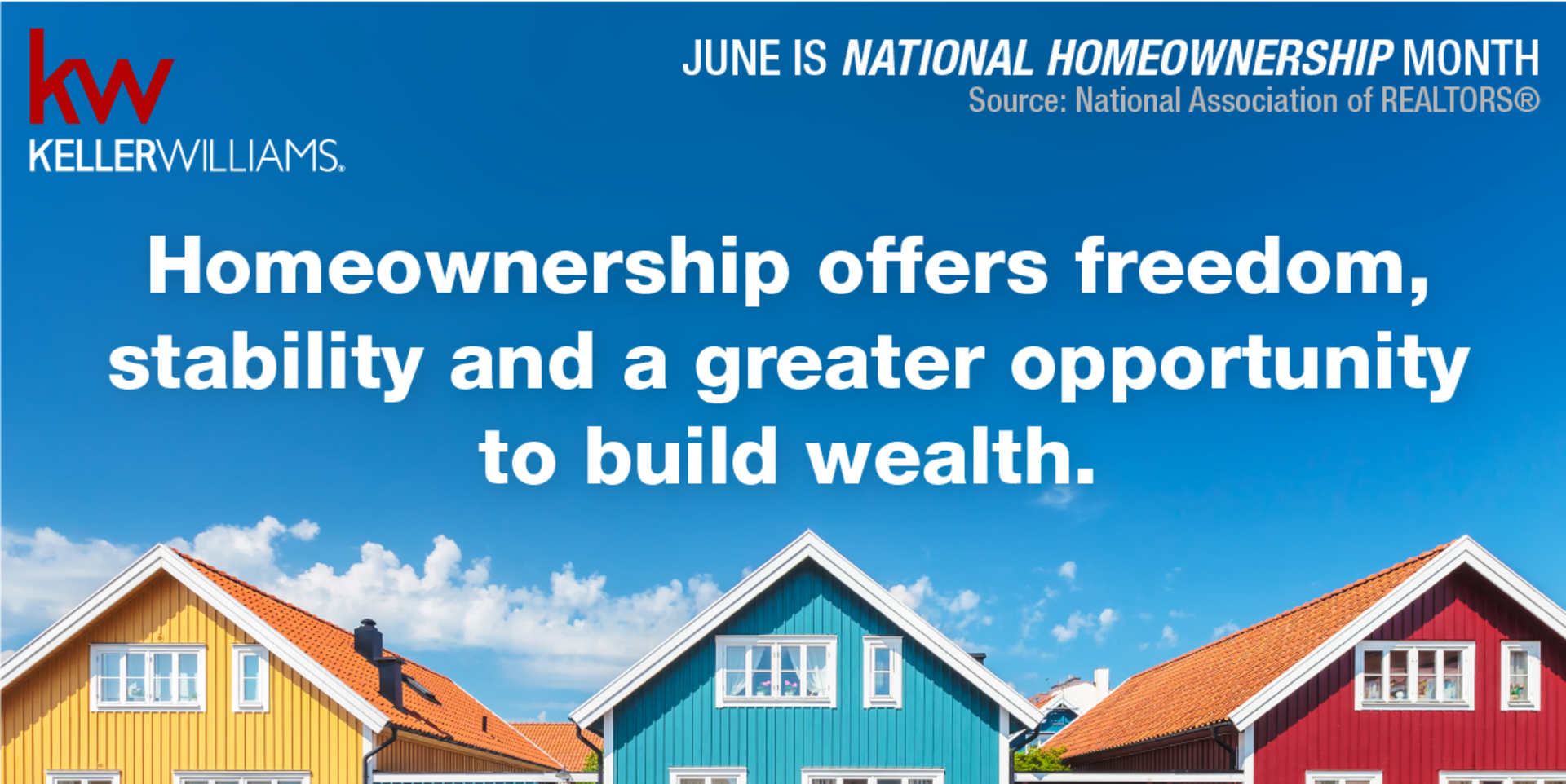 June is National Homeowner Month!