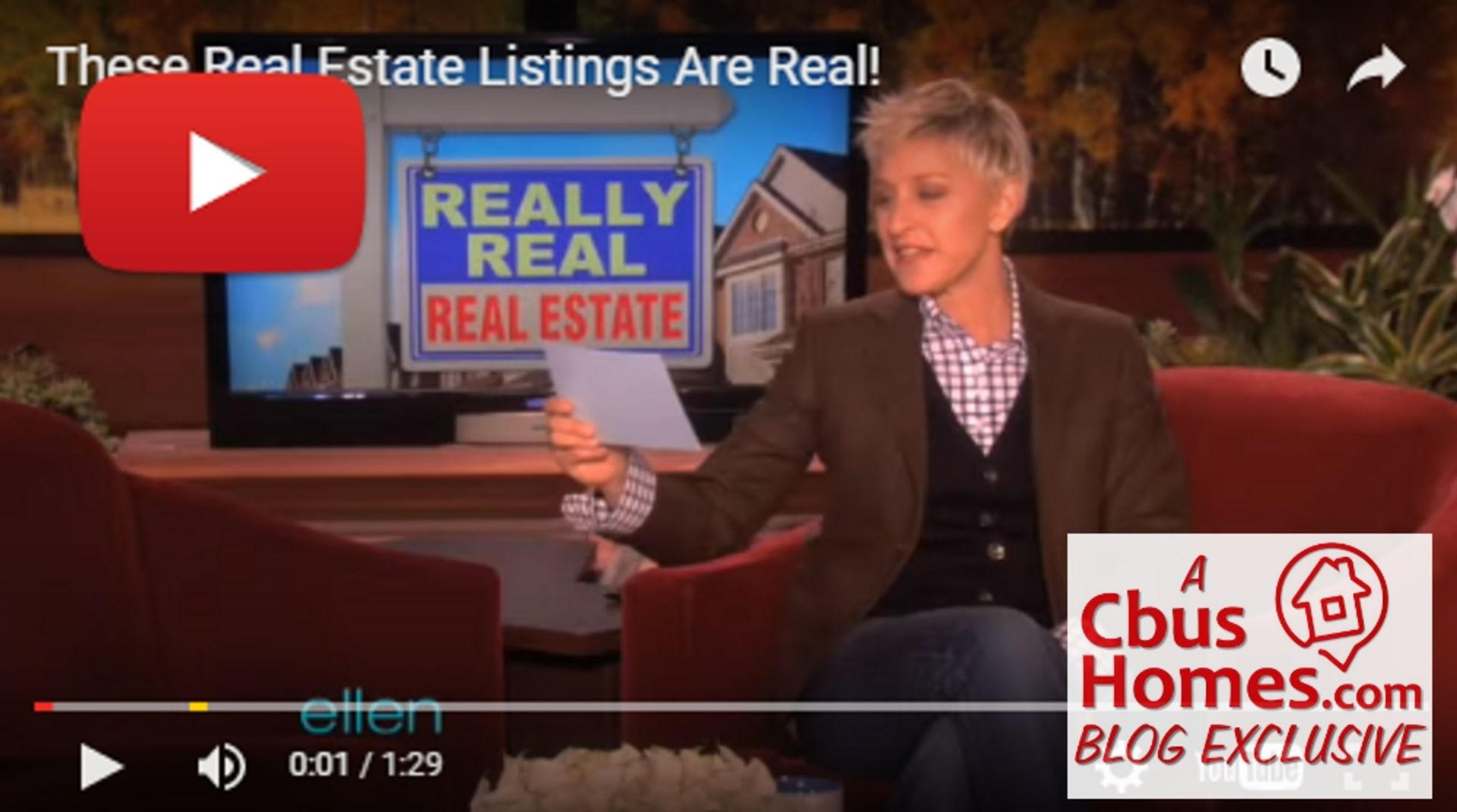 VIDEO: Really Real Real Estate from 'ellen'