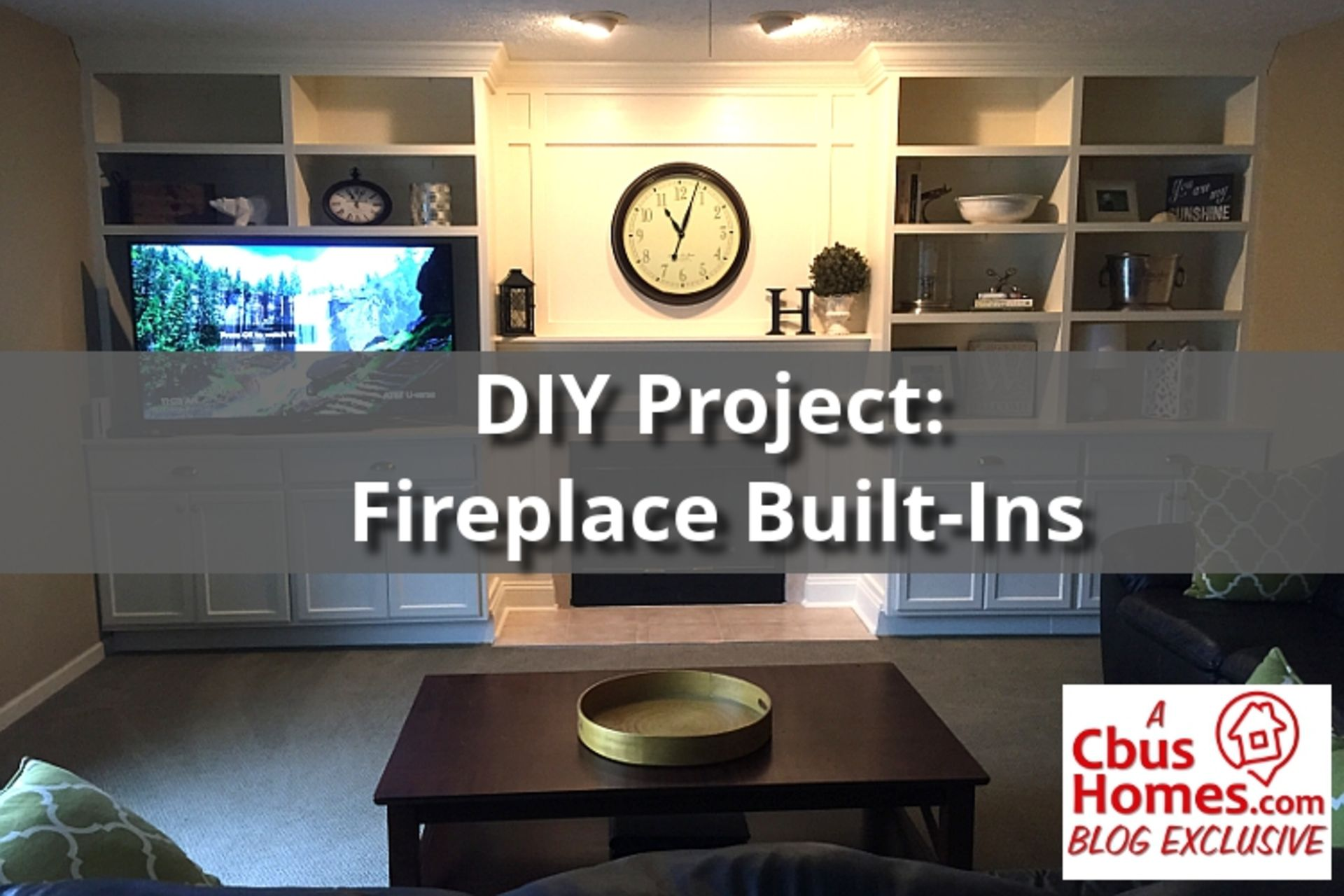 Fireplace Built-Ins Are HOT! And You Can Do It Yourself!