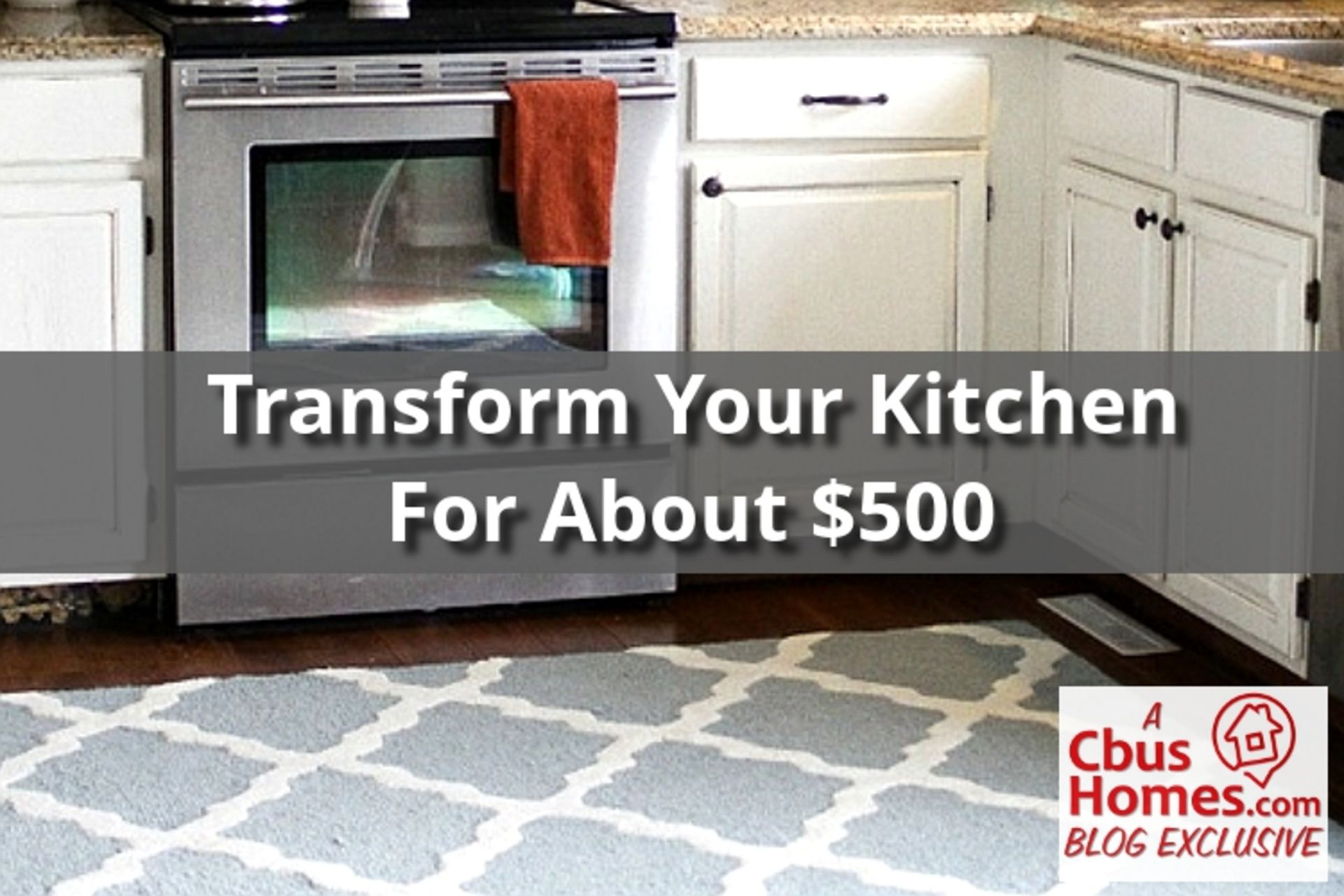 Transform Your Kitchen for About $500!