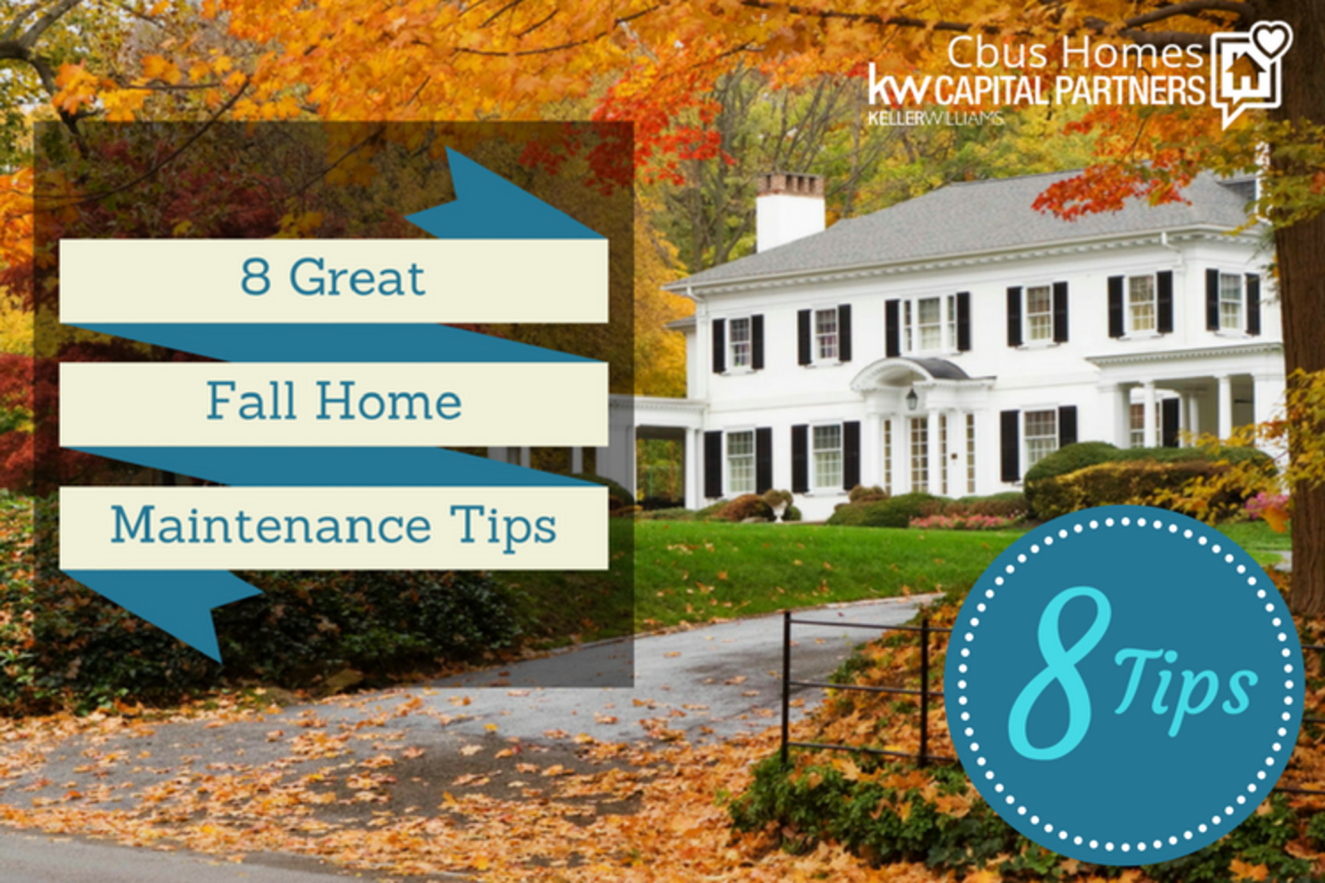8 Great Tips for Fall Home Maintenance in Columbus, Ohio