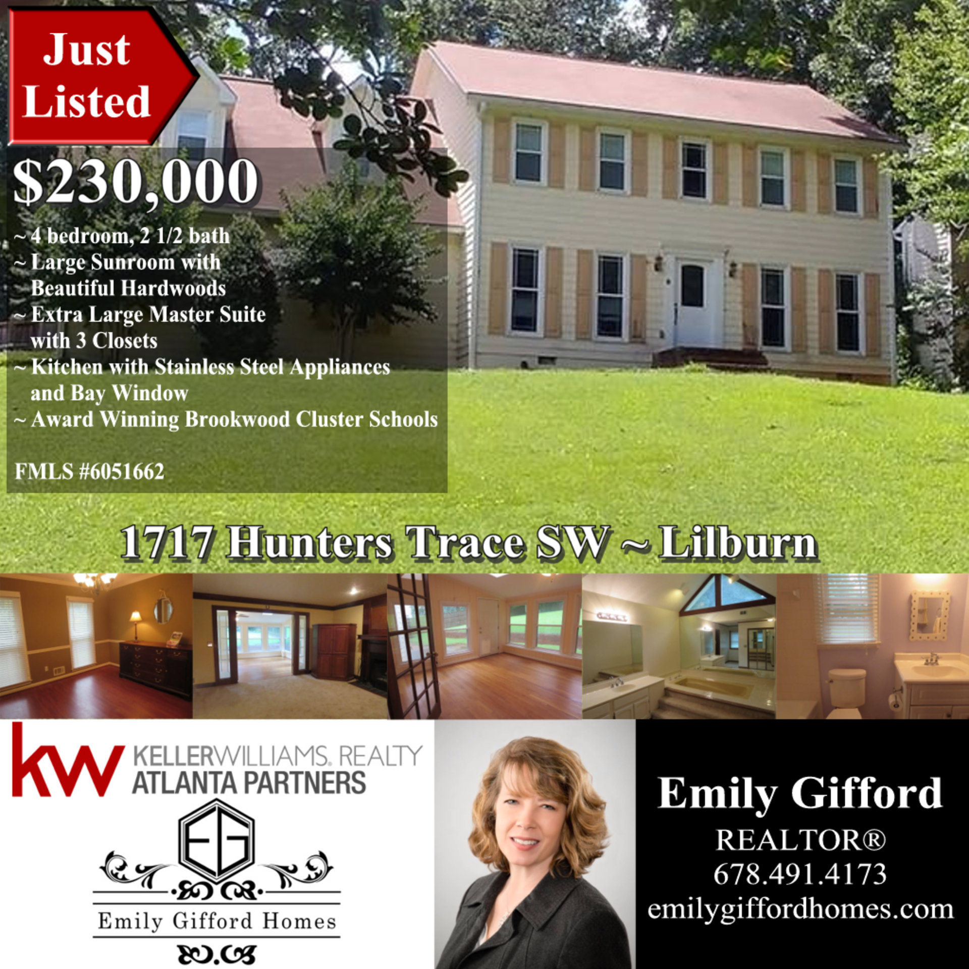 Just Listed in Lilburn