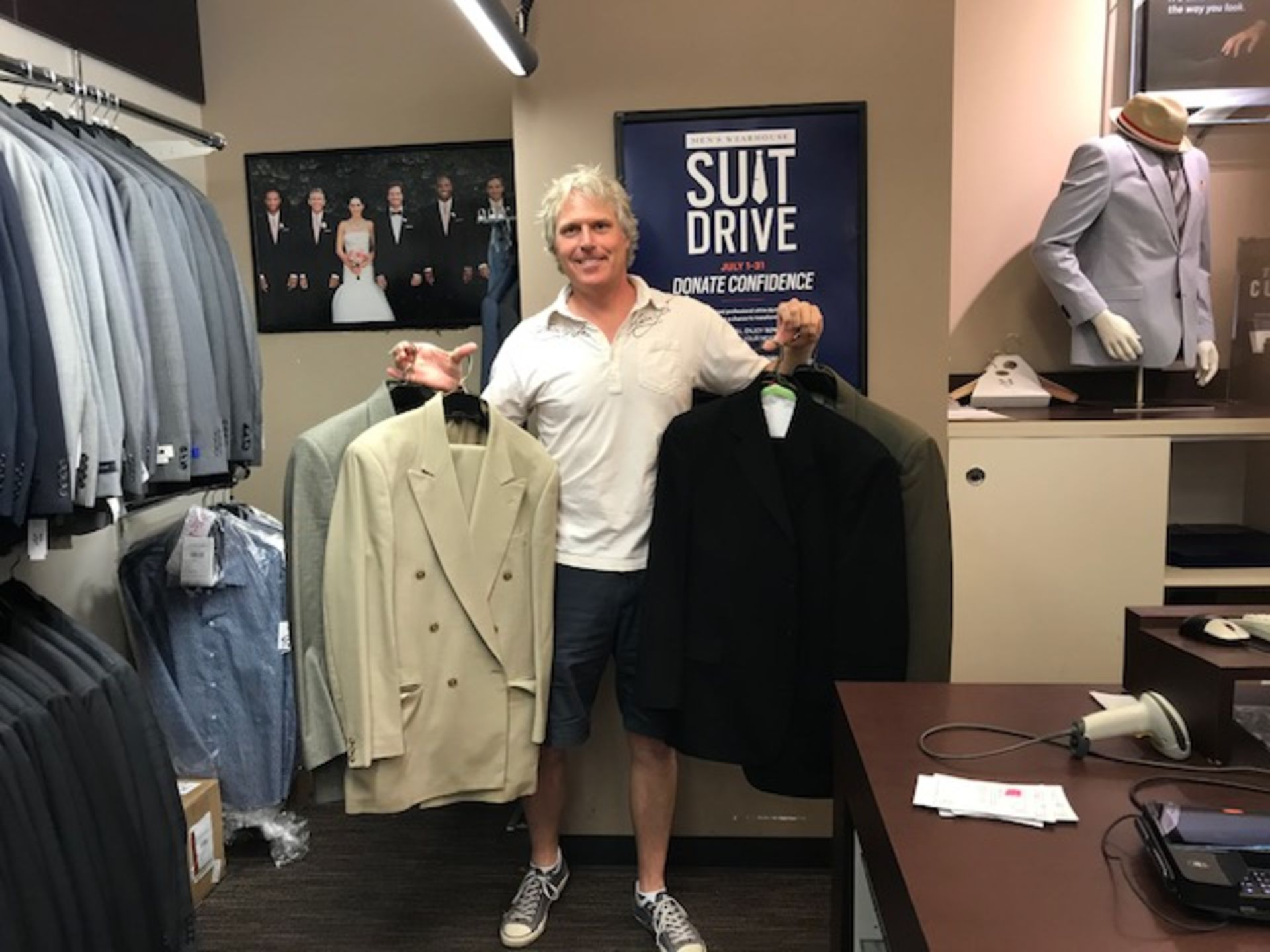 Suit Drive in July!