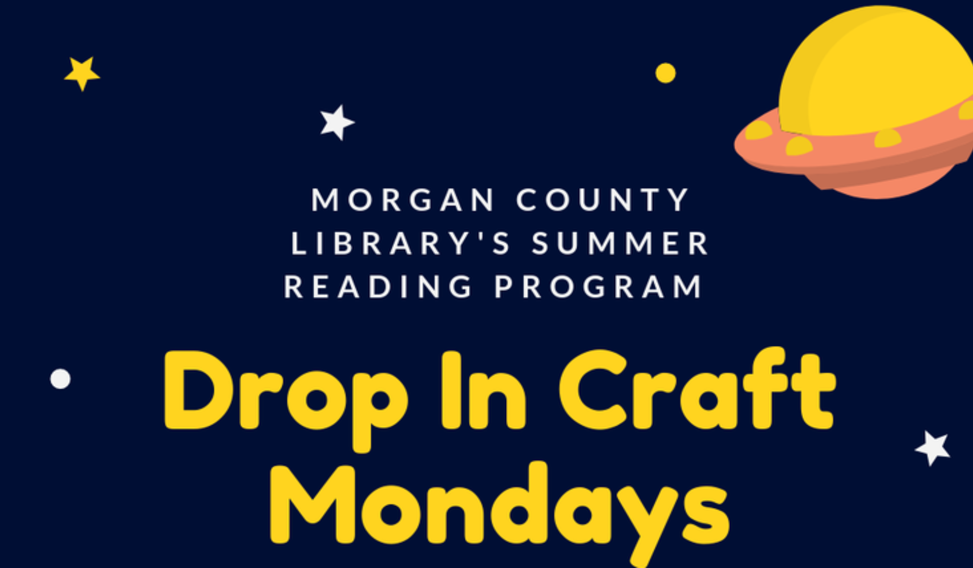 Craft Mondays @ MOCO Library