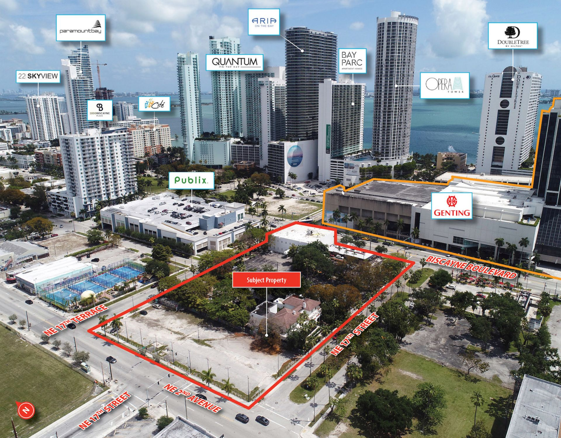 Biscayne Boulevard Redevelopment Play Hits the Market in Miami
