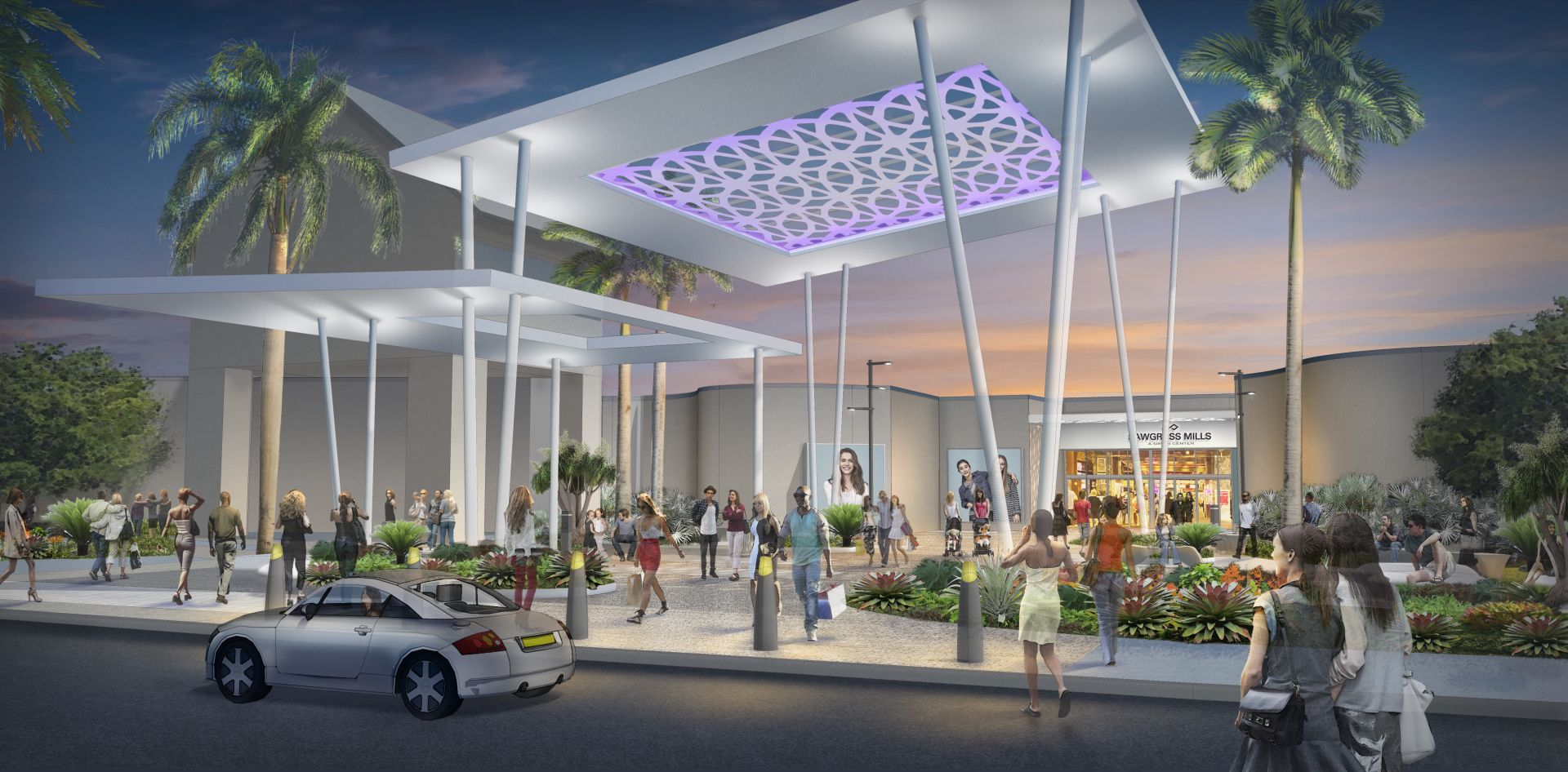 Nation's Largest Outlet Mall Gets Major Facelift, Reflecting New Front in US Retail Battle