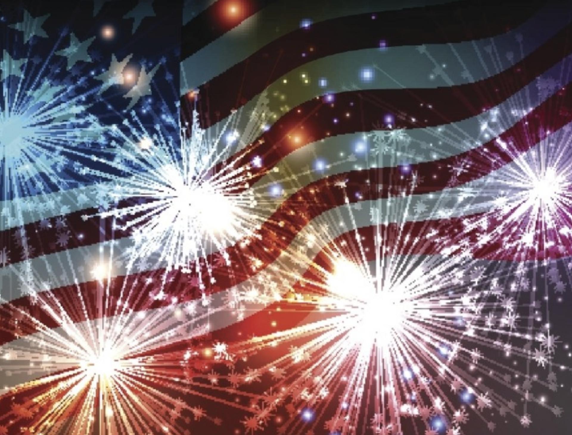 Fourth of July Fireworks Celebrations