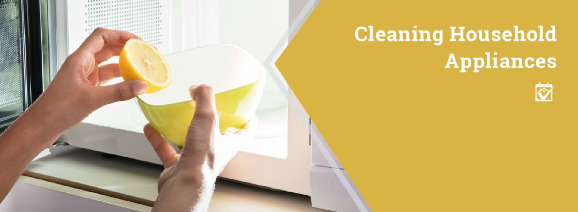 Tips on Cleaning Appliances